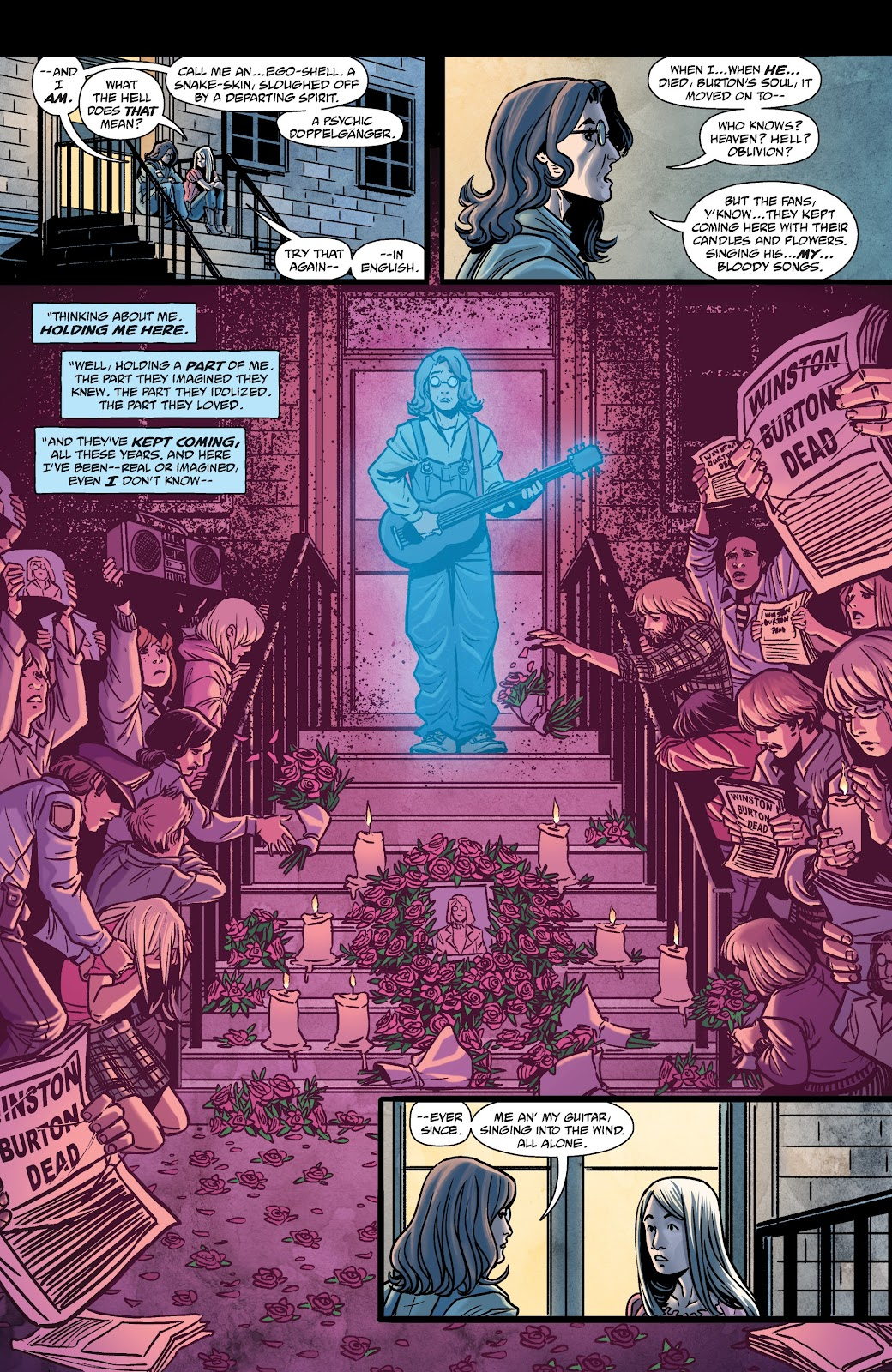 Read online The Girl In The Bay comic -  Issue #2 - 16