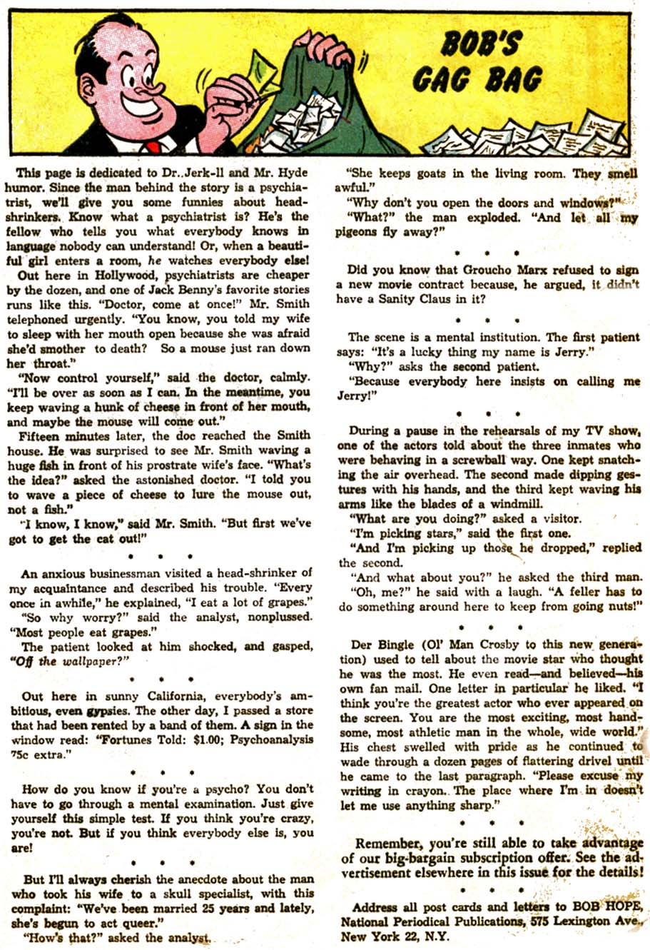 The Adventures of Bob Hope issue 92 - Page 32