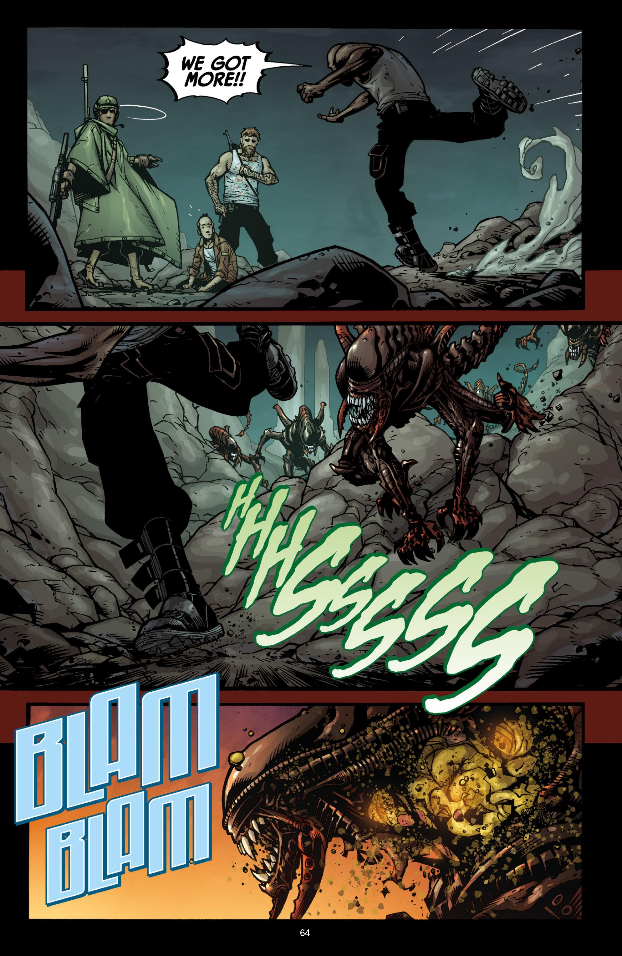 Read online Aliens (2009) comic -  Issue # TPB - 60