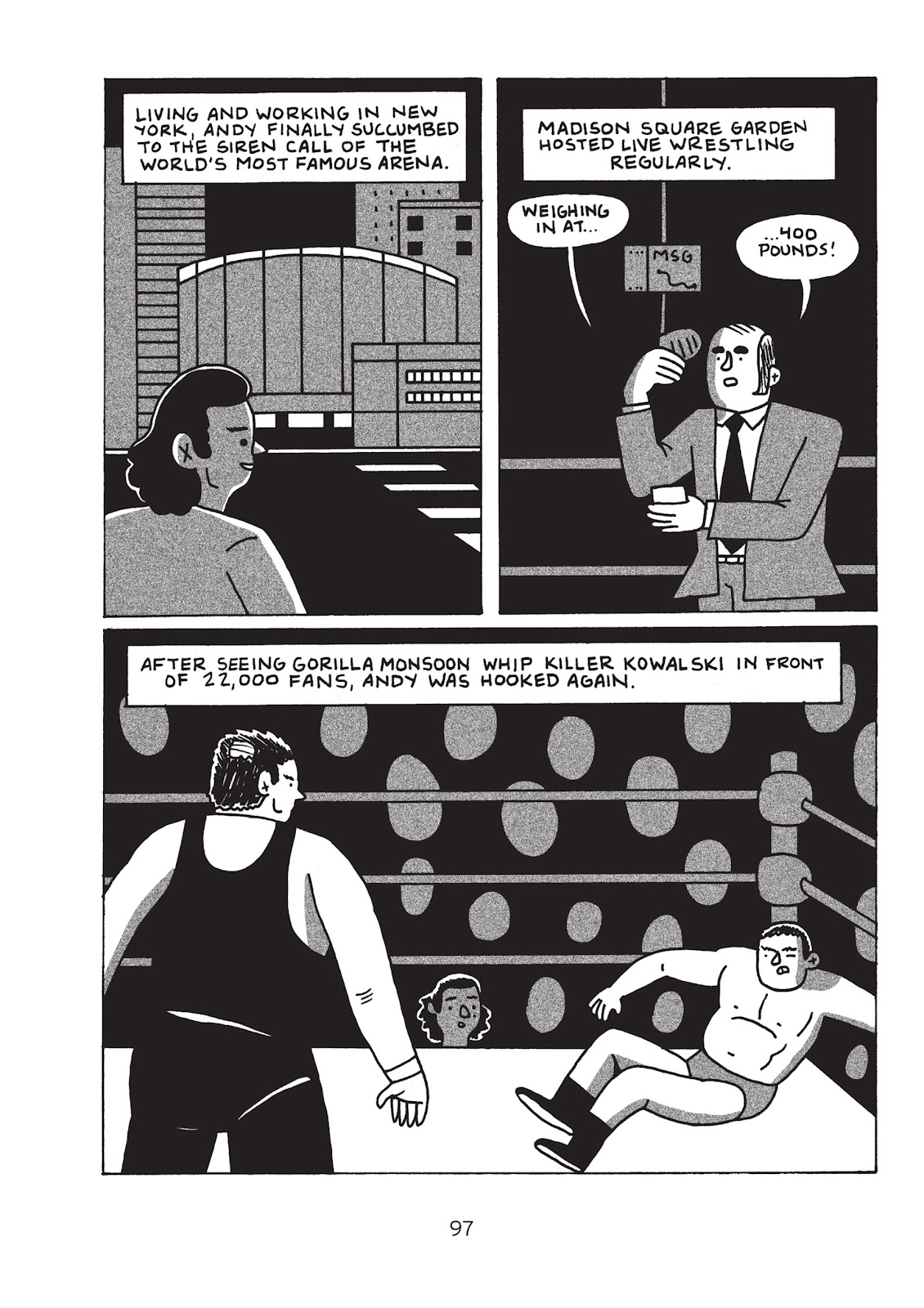 Read online Is This Guy For Real?: The Unbelievable Andy Kaufman comic -  Issue # TPB (Part 2) - 3