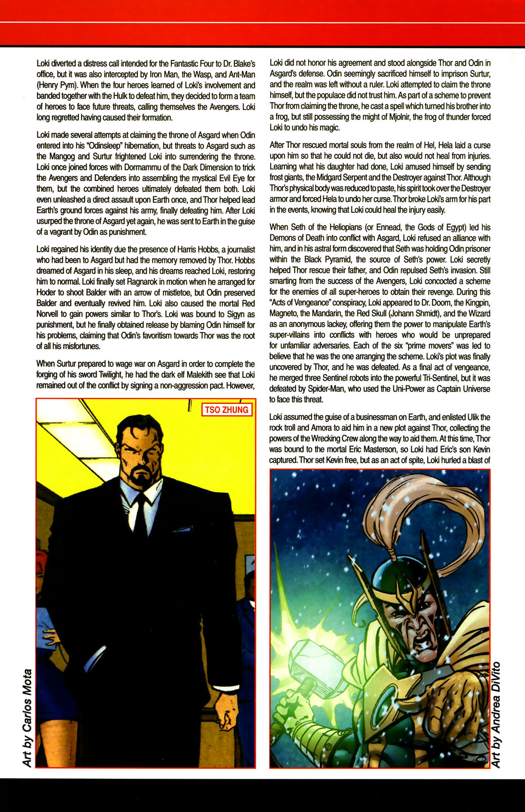 Read online All-New Official Handbook of the Marvel Universe A to Z comic -  Issue #6 - 34