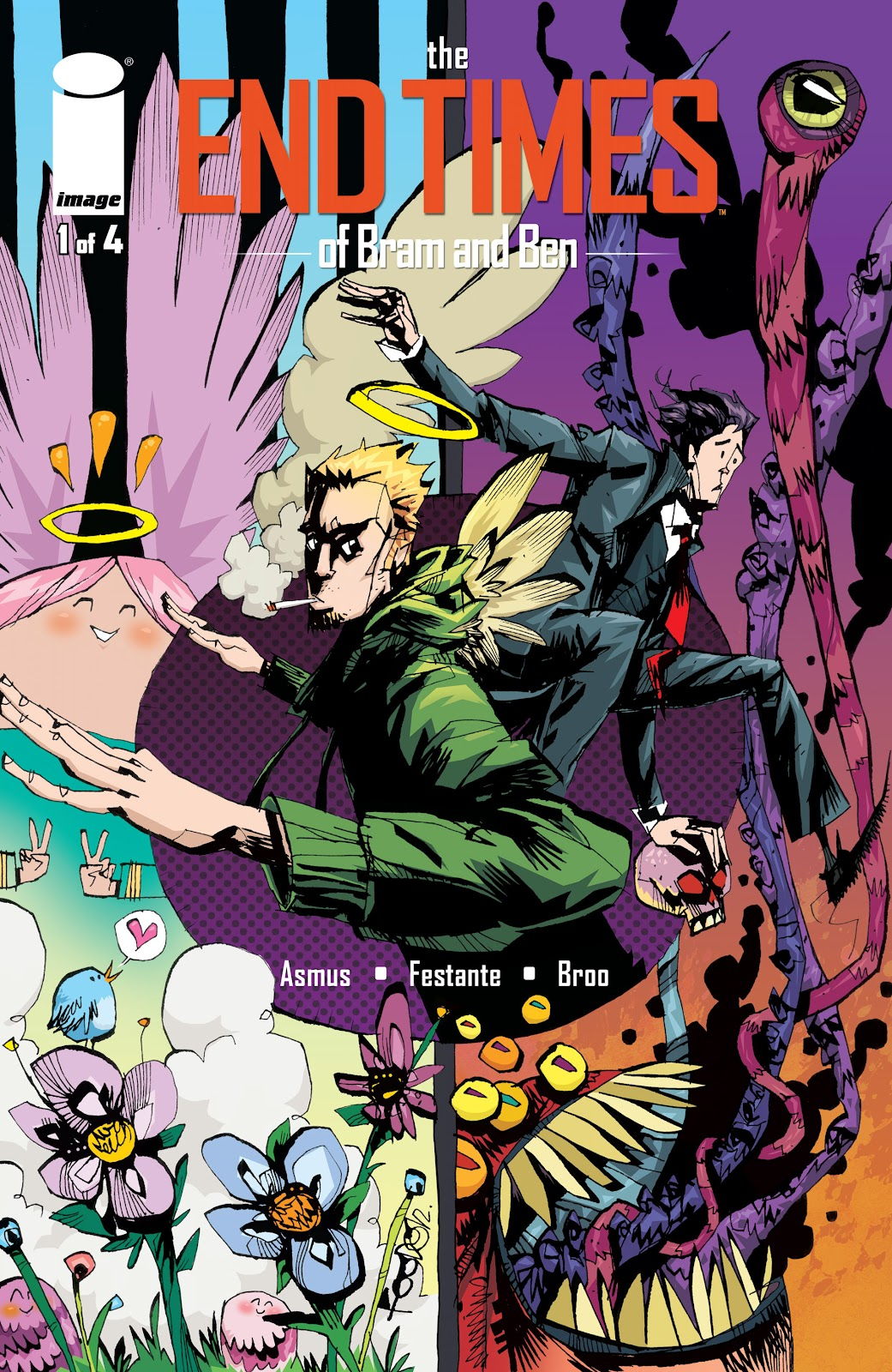 Read online The End Times of Bram and Ben comic -  Issue #1 - 1