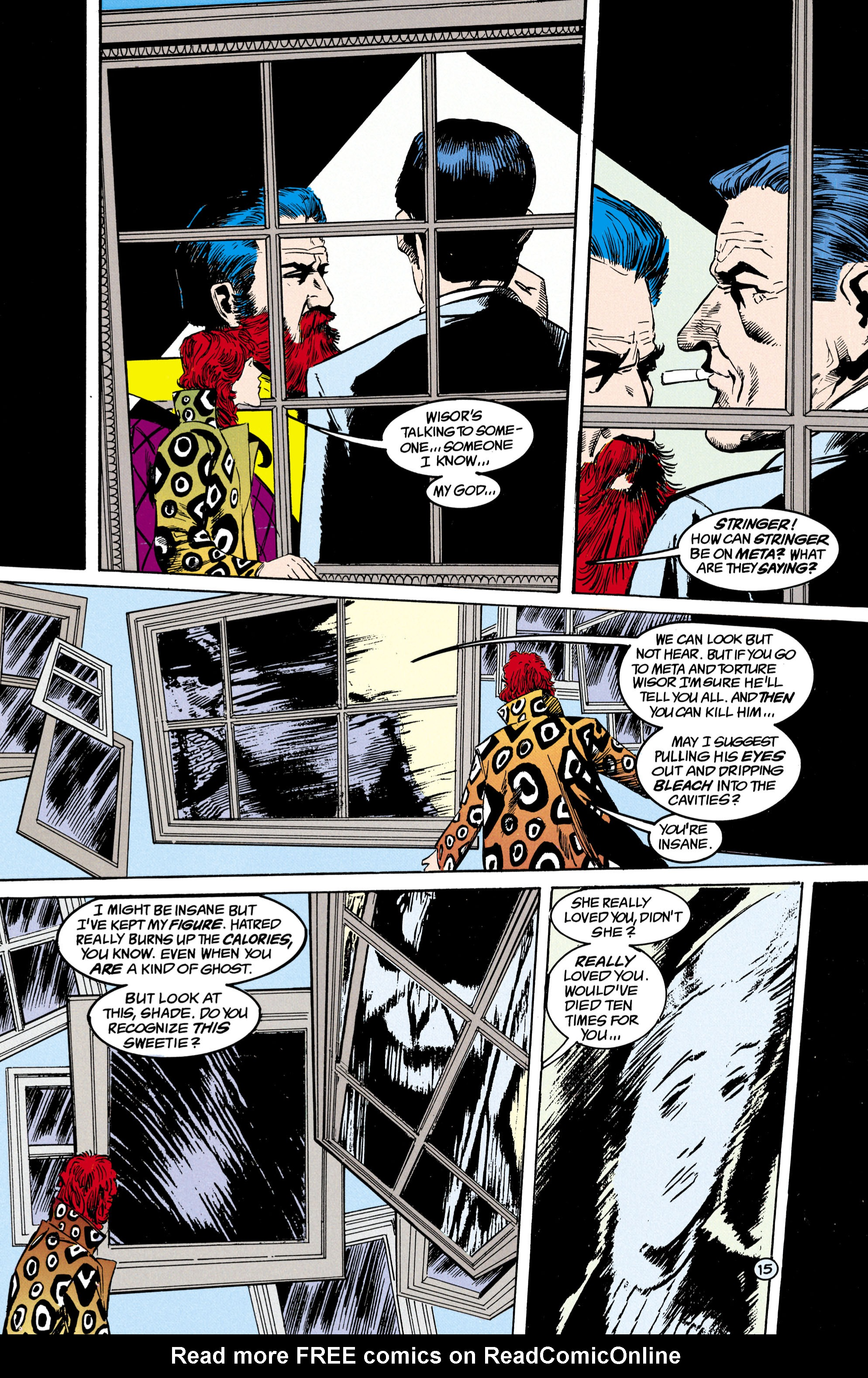 Read online Shade, the Changing Man comic -  Issue #17 - 16