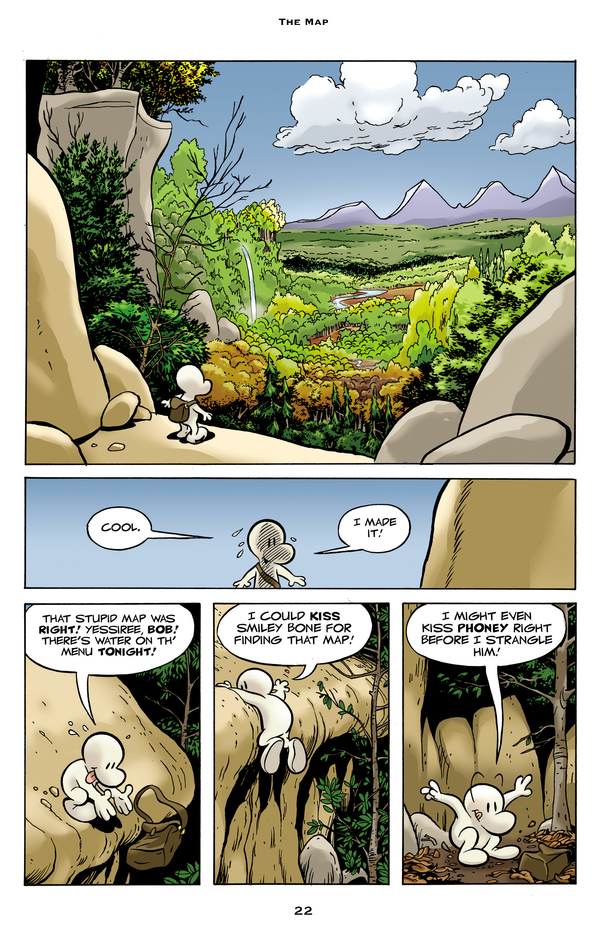 Read online Bone: Out From Boneville comic -  Issue # TPB - 22