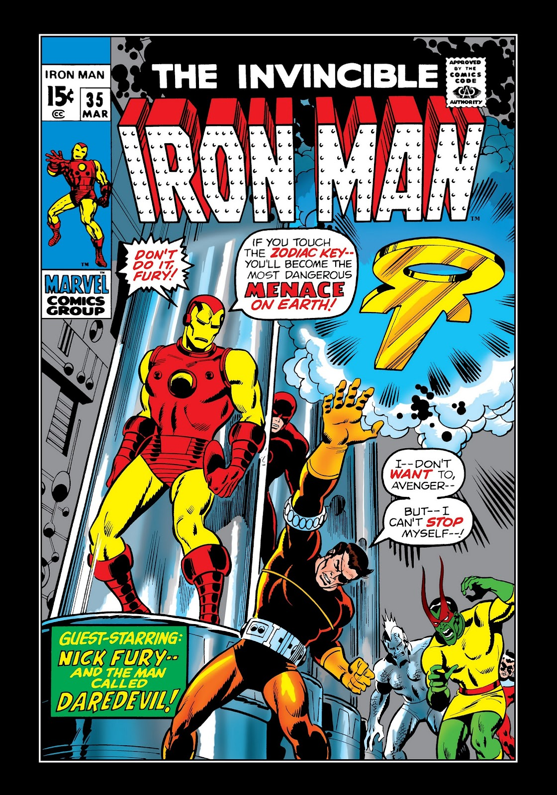 Read online Marvel Masterworks: The Invincible Iron Man comic -  Issue # TPB 7 (Part 2) - 89
