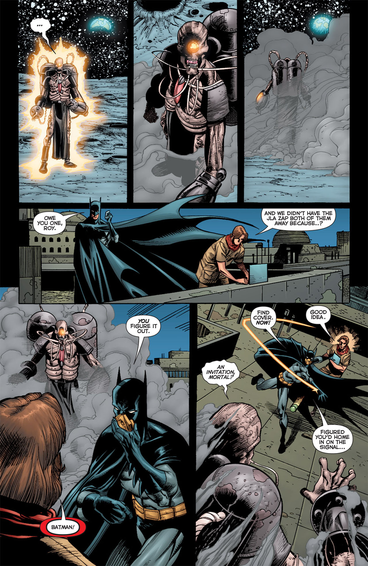 Read online 52 Aftermath: The Four Horsemen comic -  Issue #4 - 16