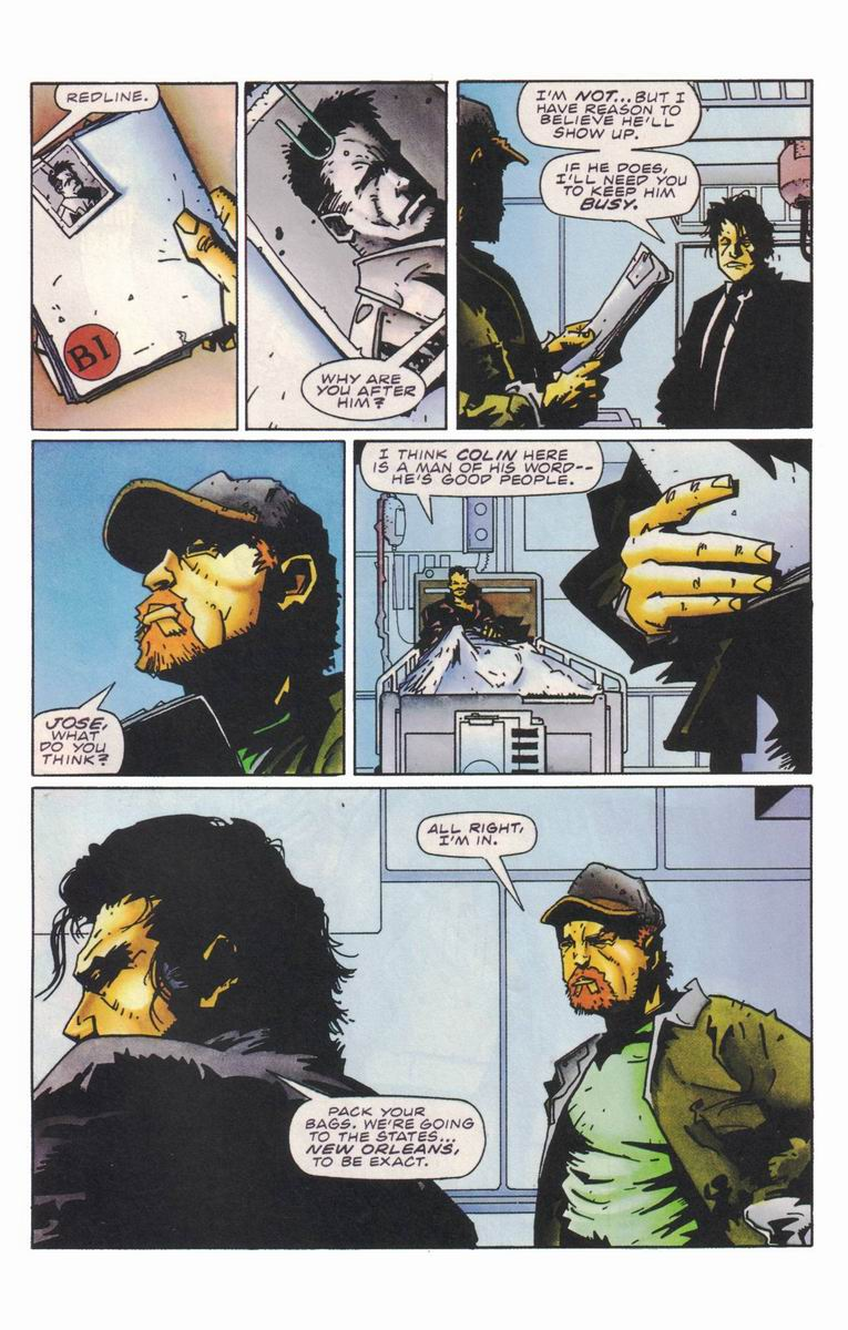 Read online Secret Weapons comic -  Issue #18 - 21