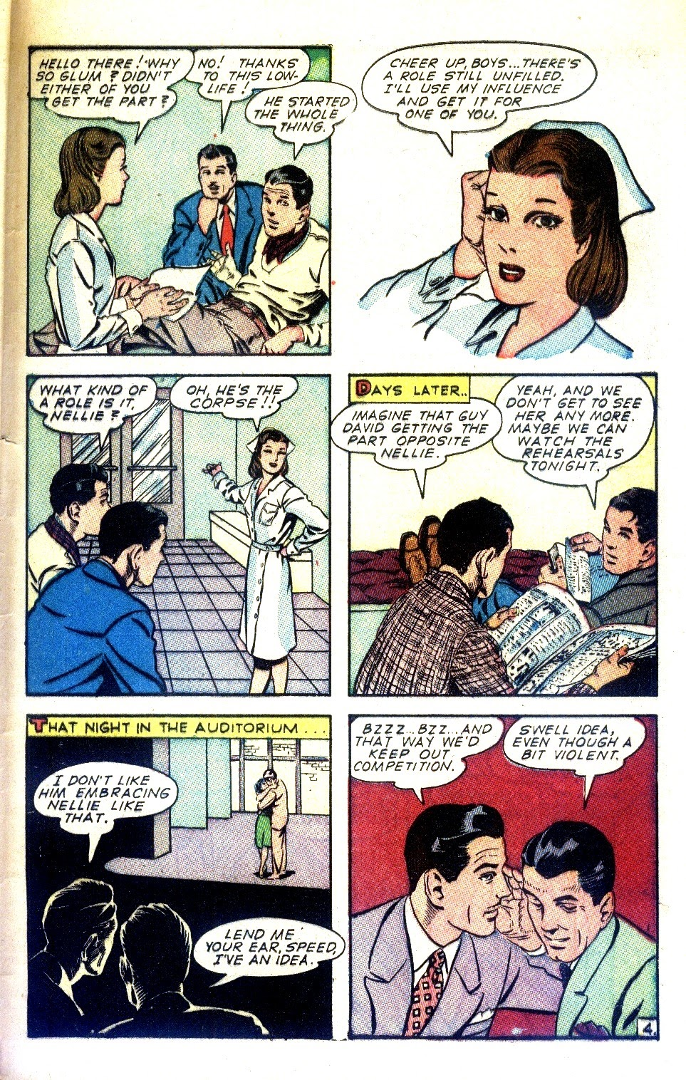 Read online Nellie The Nurse (1945) comic -  Issue #2 - 45