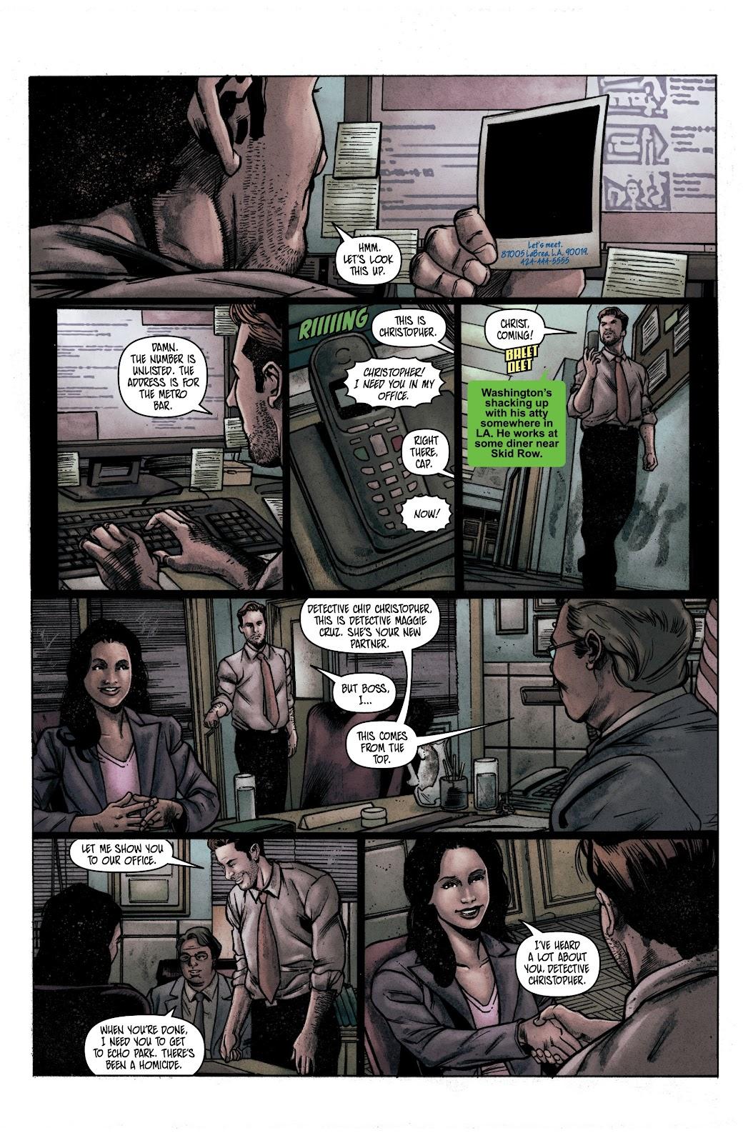 Read online Vindication comic -  Issue #1 - 10