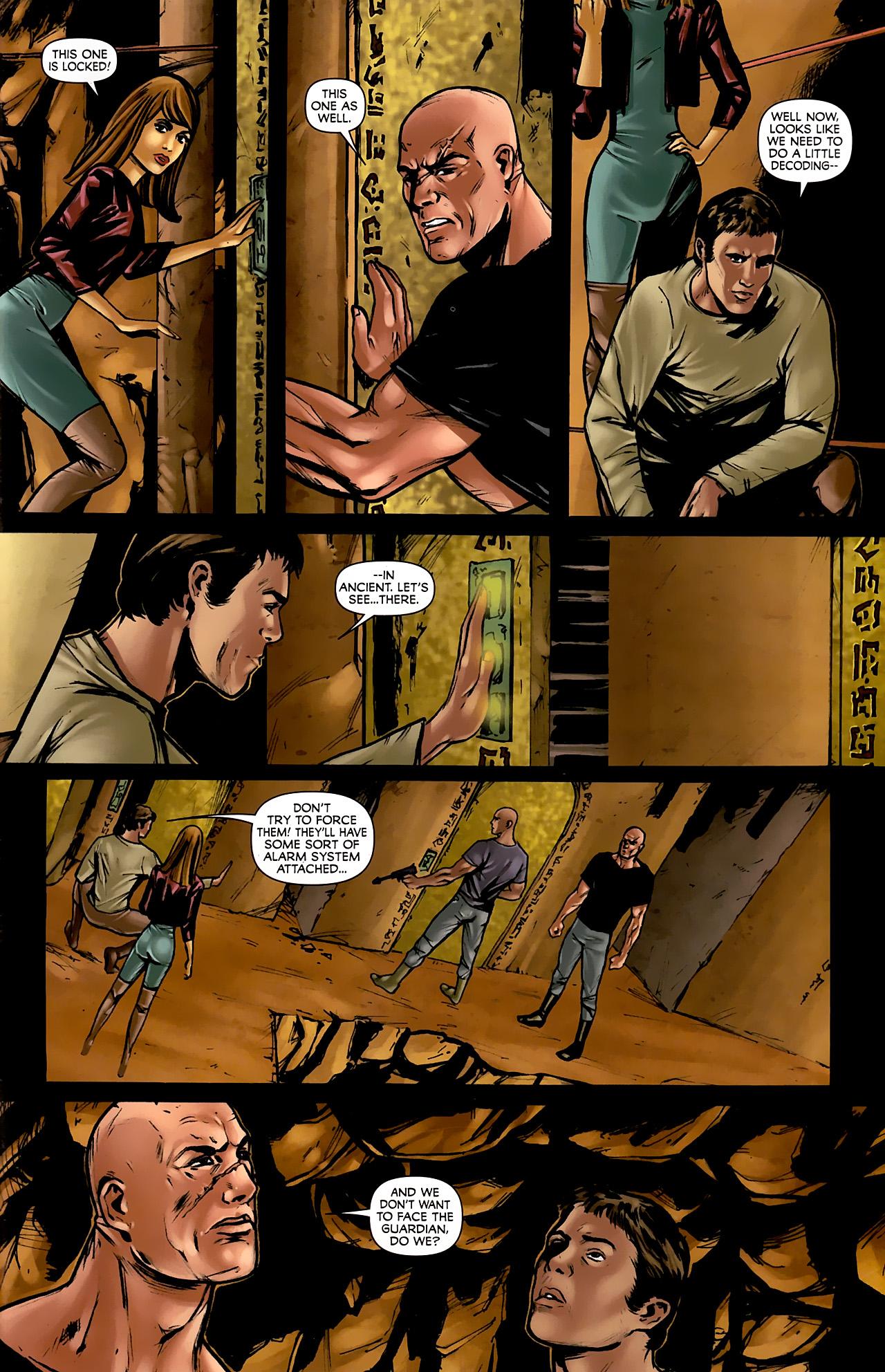 Read online Stargate: Daniel Jackson comic -  Issue #3 - 21