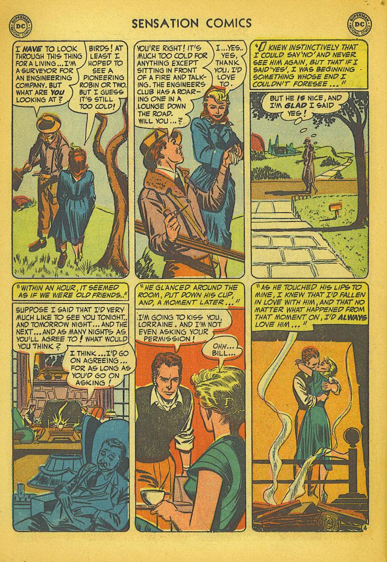 Read online Sensation (Mystery) Comics comic -  Issue #104 - 20