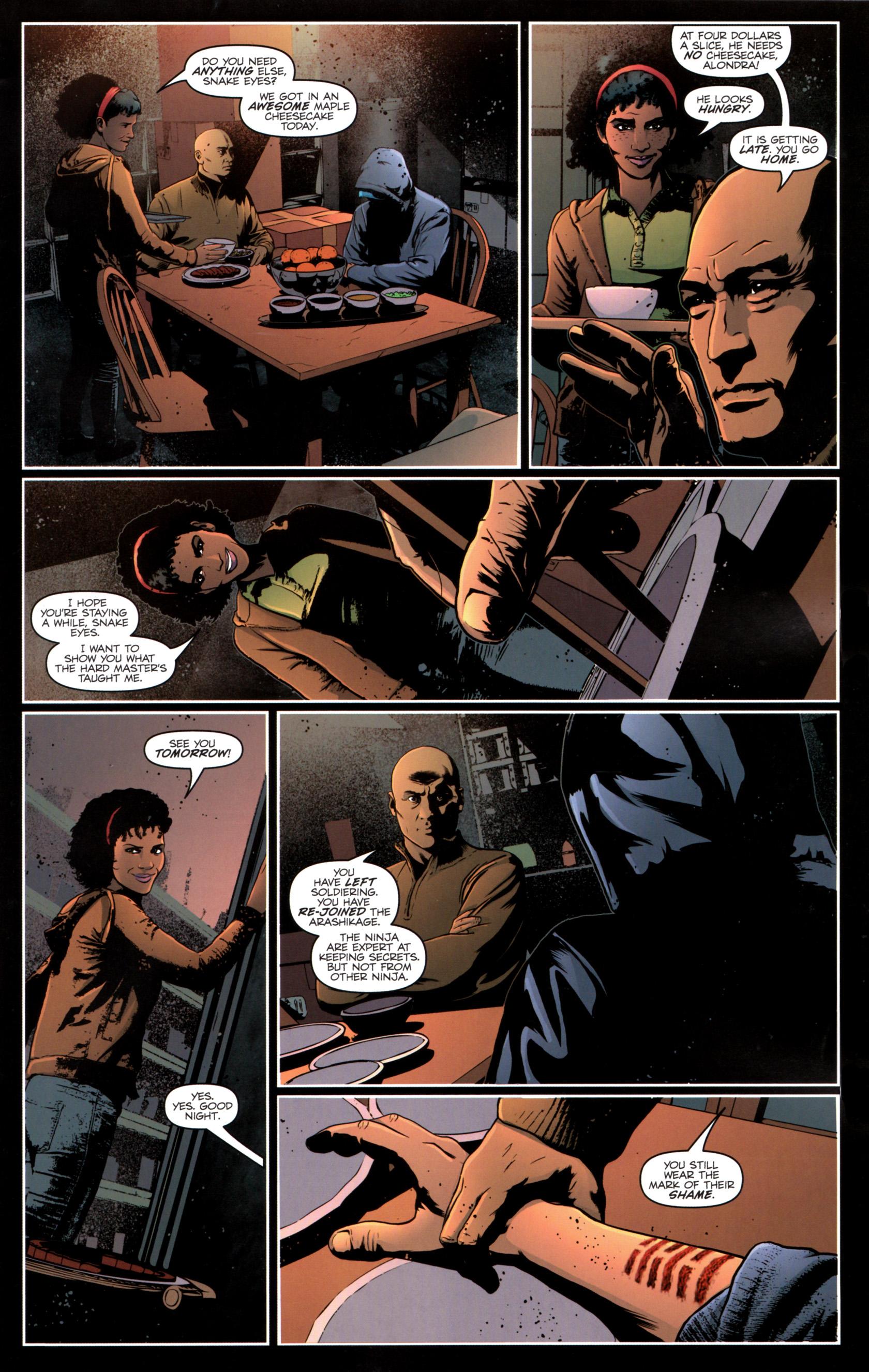 Read online G.I. Joe: Snake Eyes comic -  Issue #12 - 8