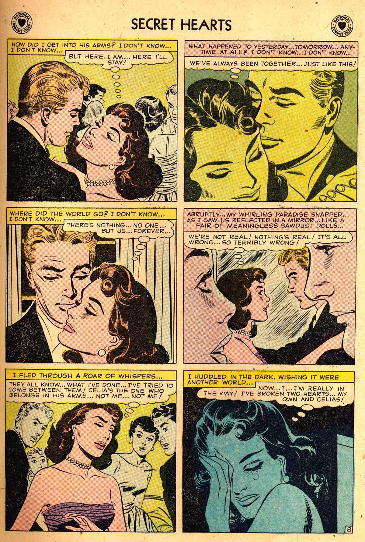 Read online Secret Hearts comic -  Issue #52 - 33