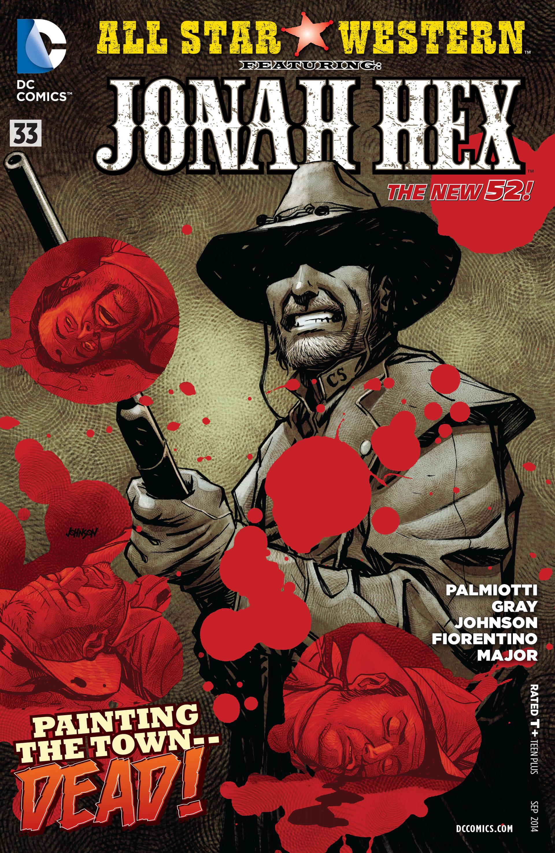 Read online All-Star Western (2011) comic -  Issue #33 - 1