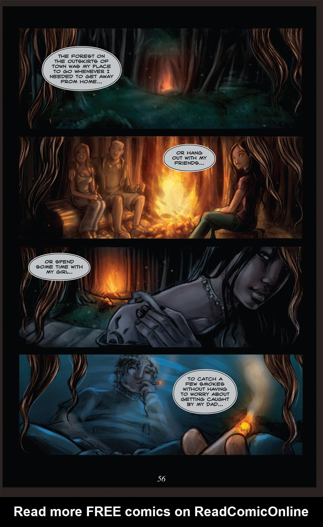 Read online Nightmare World comic -  Issue # Vol. 2 Leave the Light On - 57