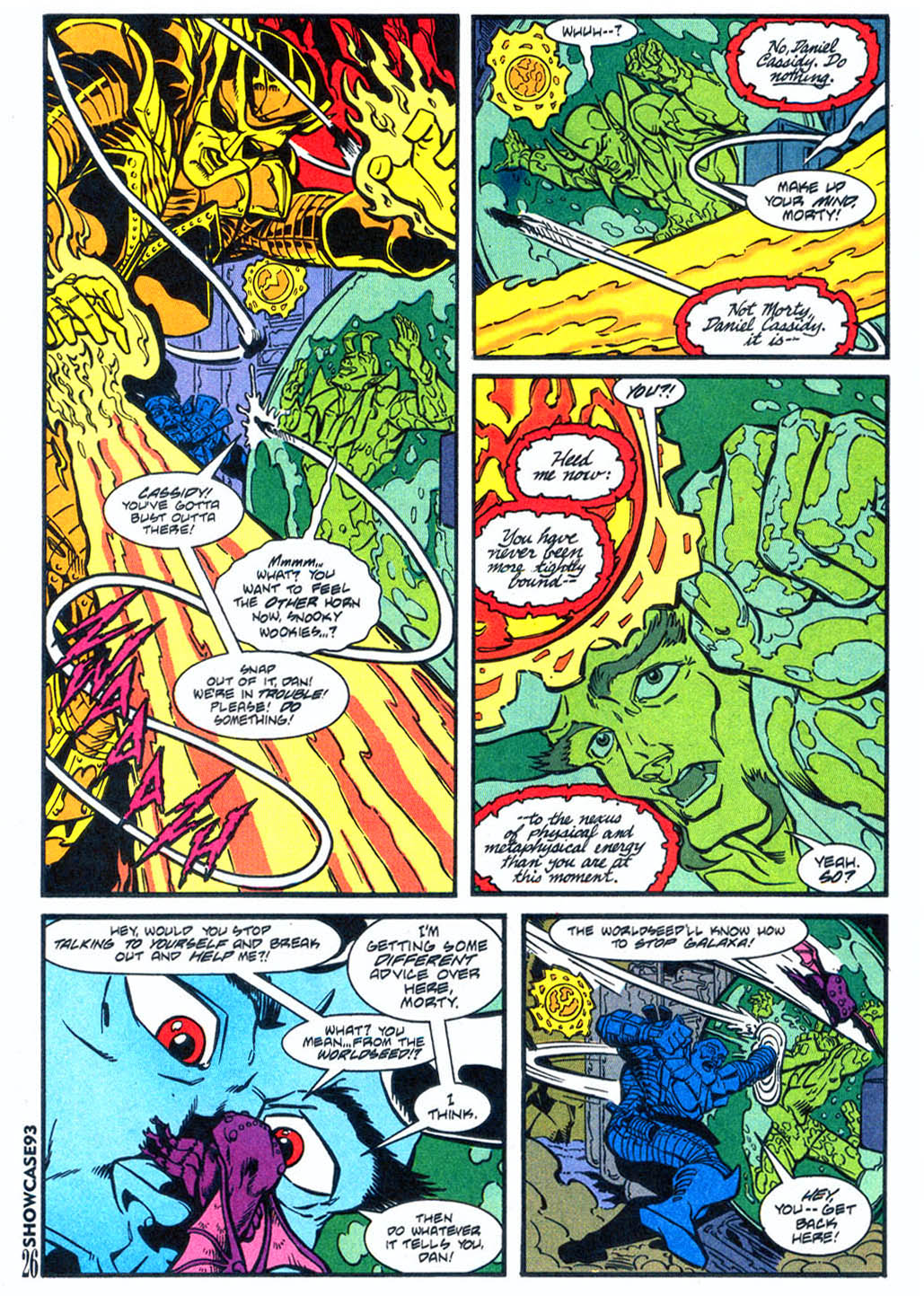 Read online Showcase '93 comic -  Issue #4 - 23