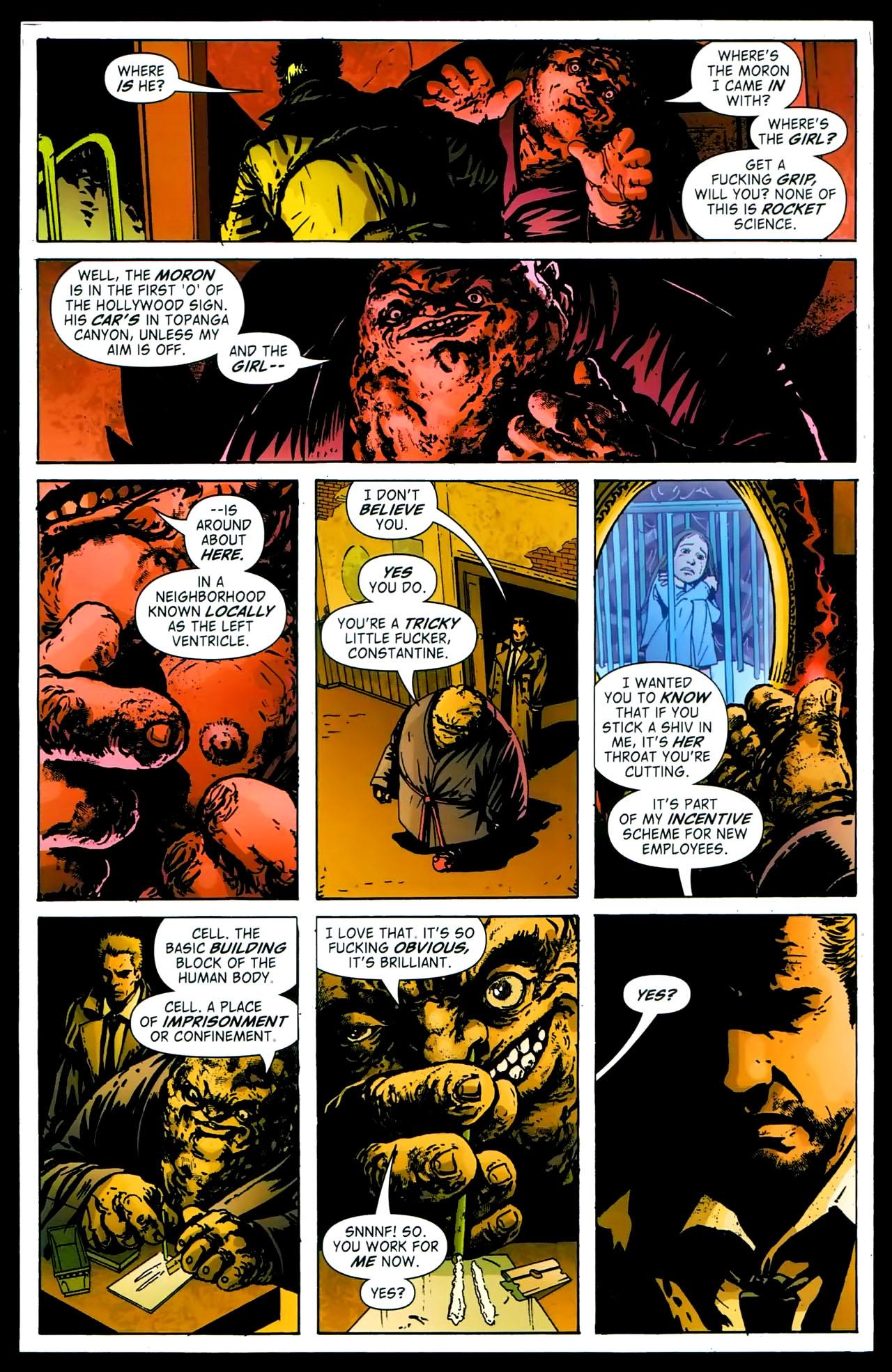 Read online John Constantine Hellblazer: All His Engines comic -  Issue # Full - 44