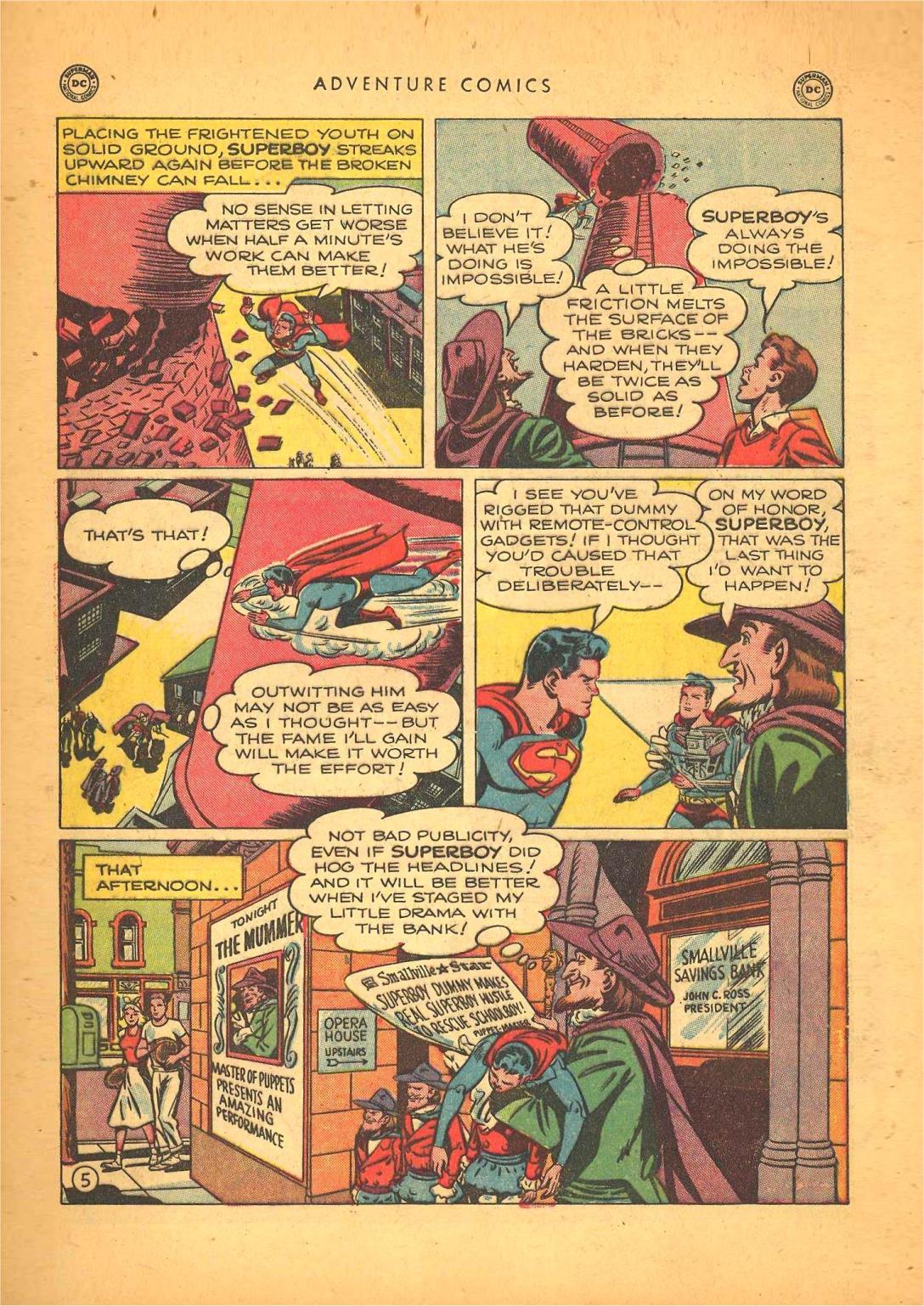 Read online Adventure Comics (1938) comic -  Issue #148 - 7