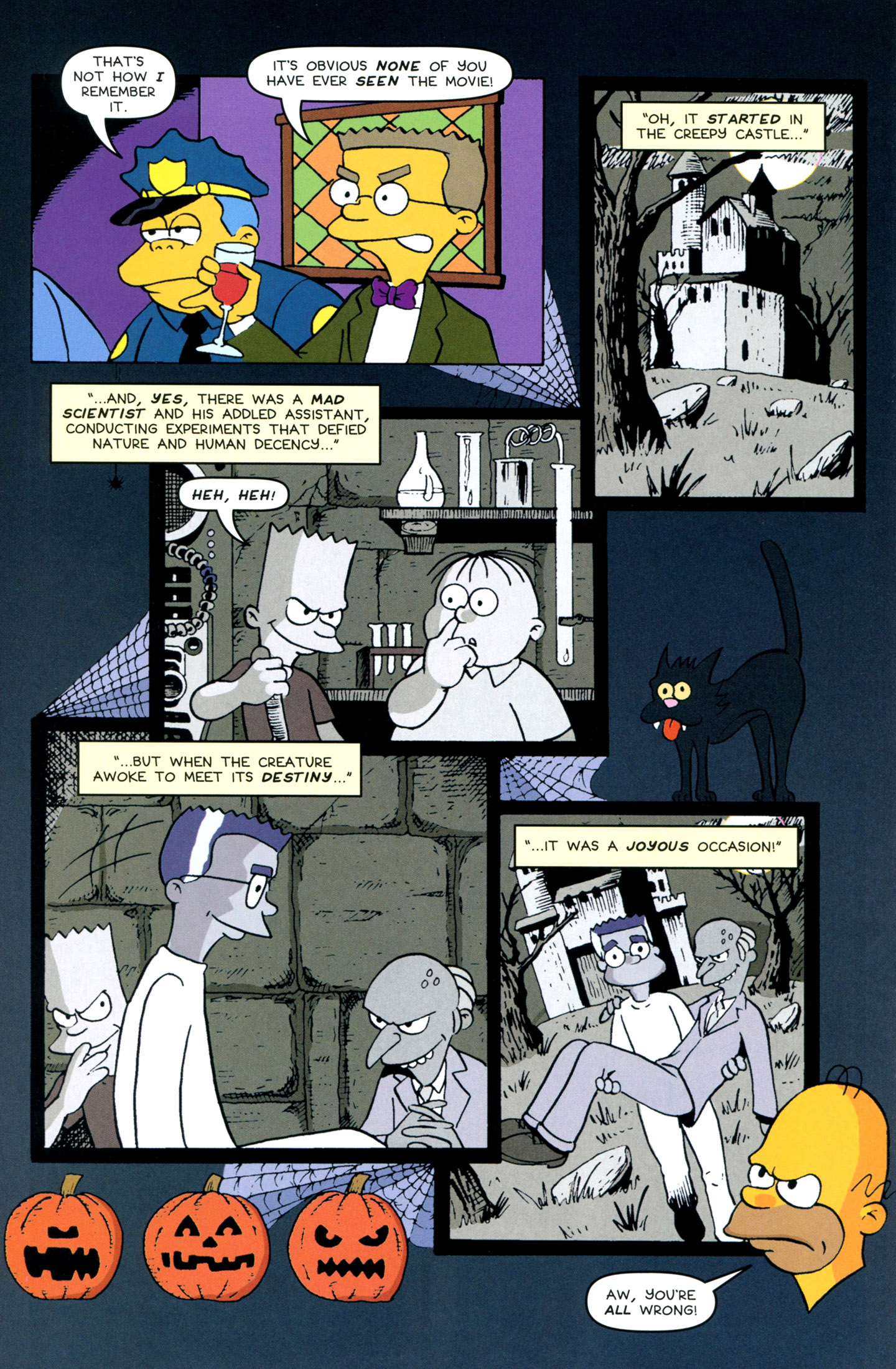 Read online Treehouse of Horror comic -  Issue #18 - 44