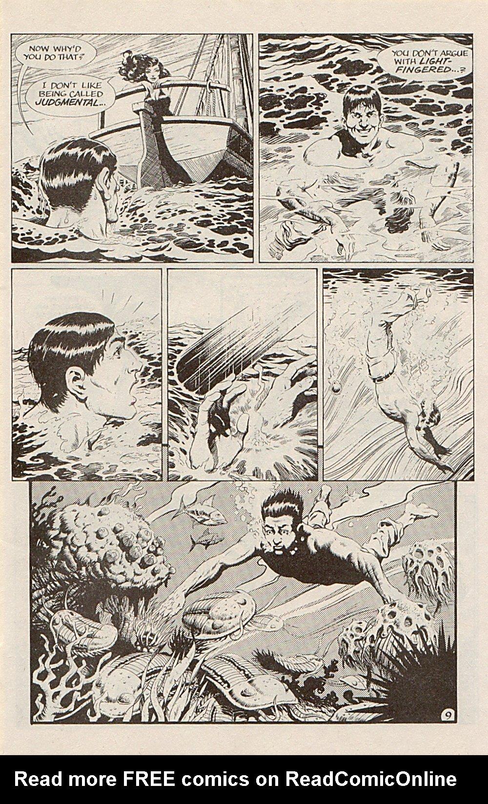Read online Xenozoic Tales comic -  Issue #5 - 12