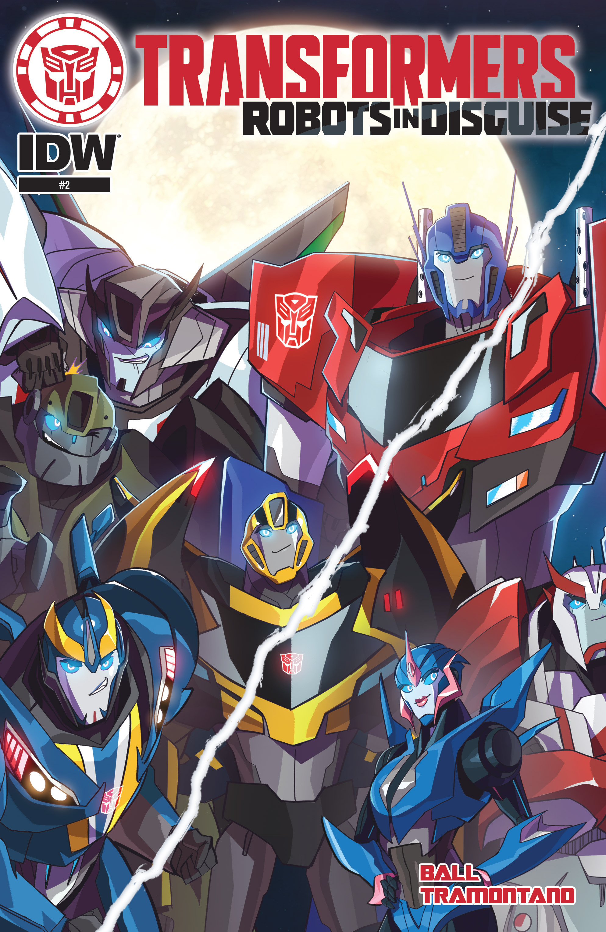 Read online Transformers: Robots In Disguise (2015) comic -  Issue #2 - 1