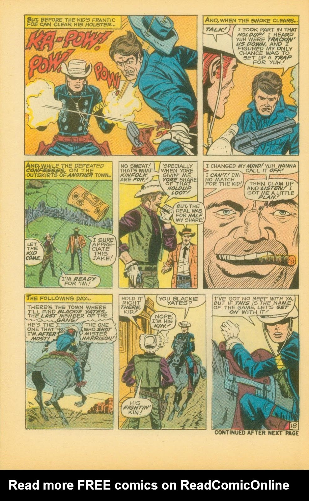 The Rawhide Kid (1955) issue 73 - Page 31