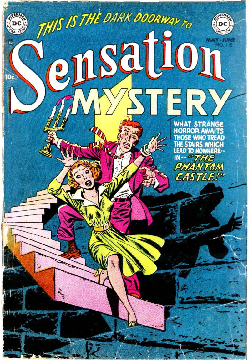 Read online Sensation (Mystery) Comics comic -  Issue #115 - 1