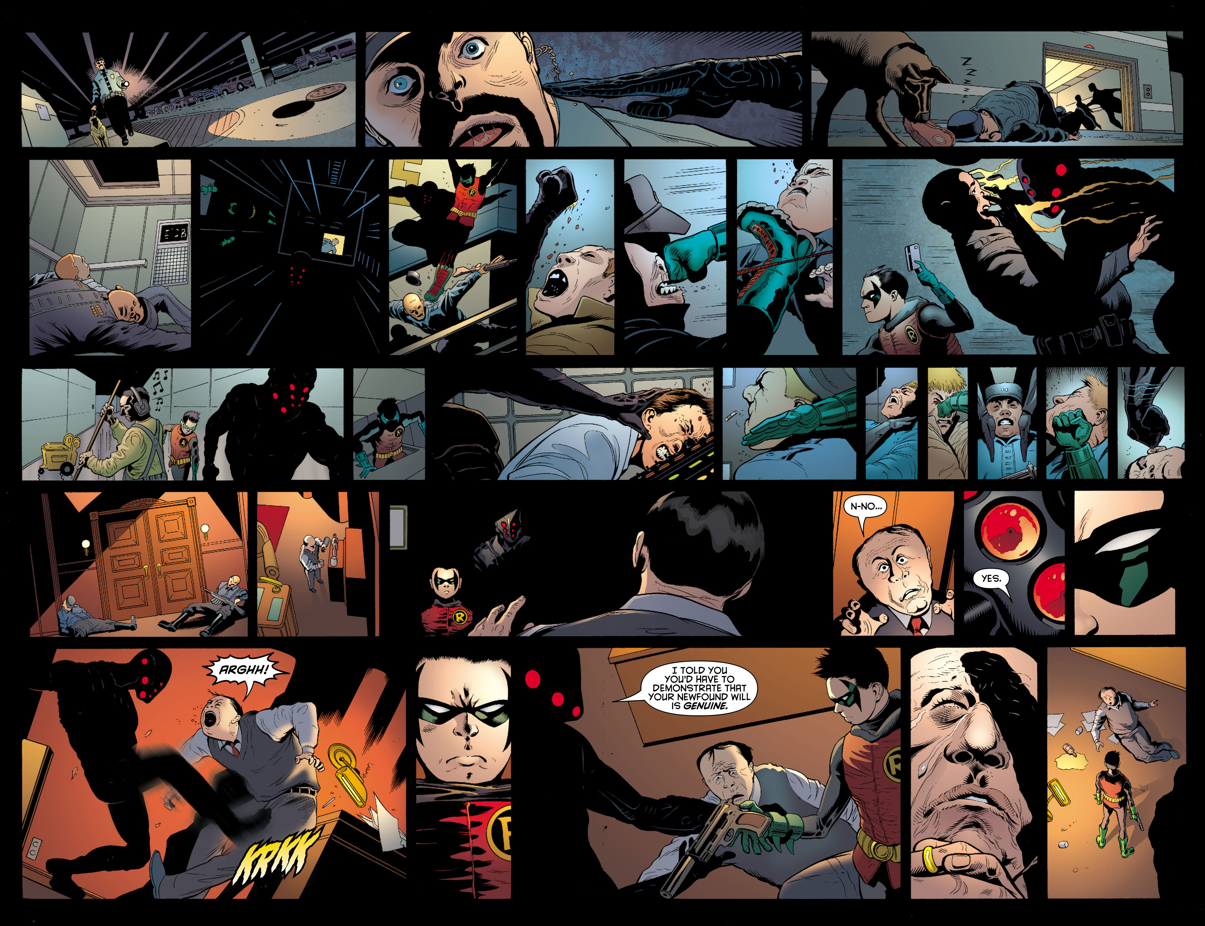 Read online Batman and Robin (2011) comic -  Issue # TPB 1 - 108