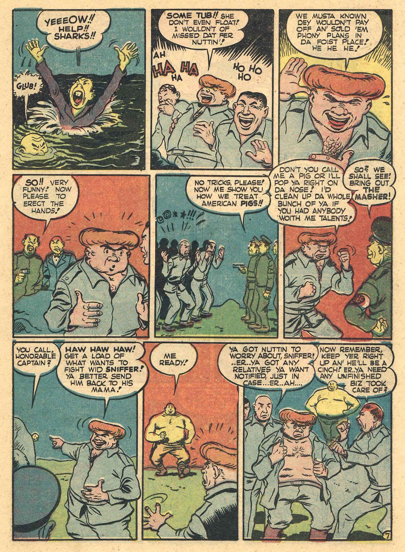 Daredevil (1941) issue 16 - Page 25