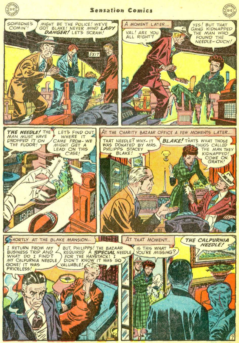 Read online Sensation (Mystery) Comics comic -  Issue #87 - 46