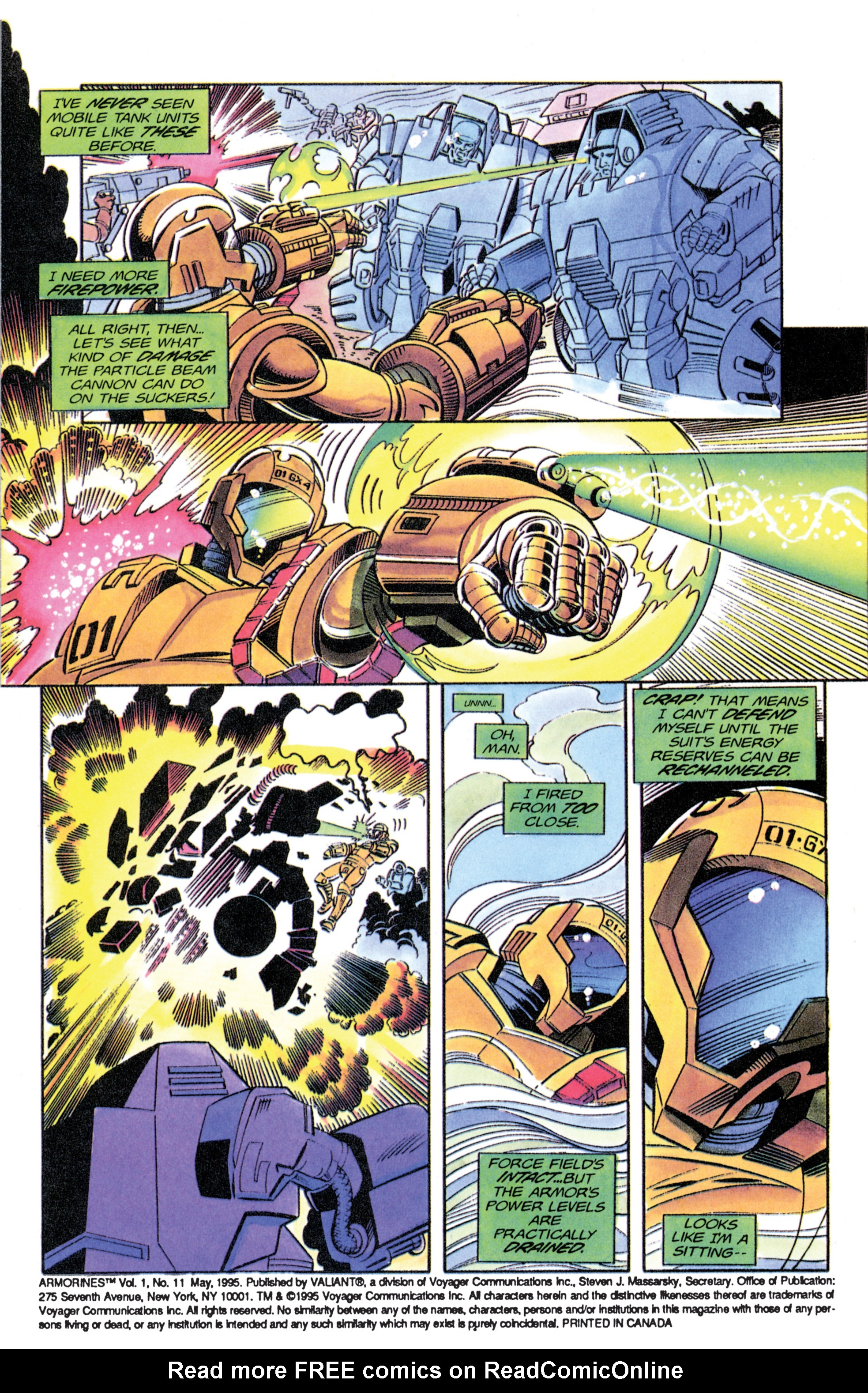 Read online Armorines comic -  Issue #11 - 4
