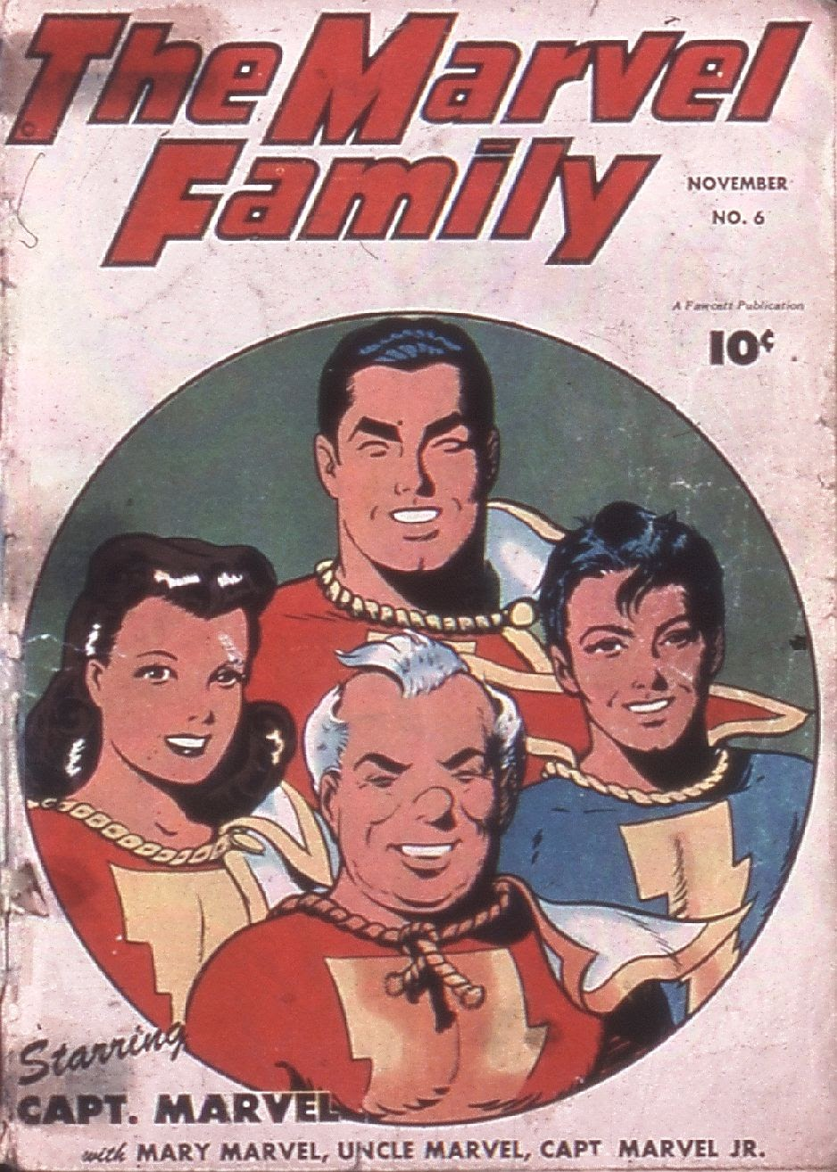 The Marvel Family issue 6 - Page 1