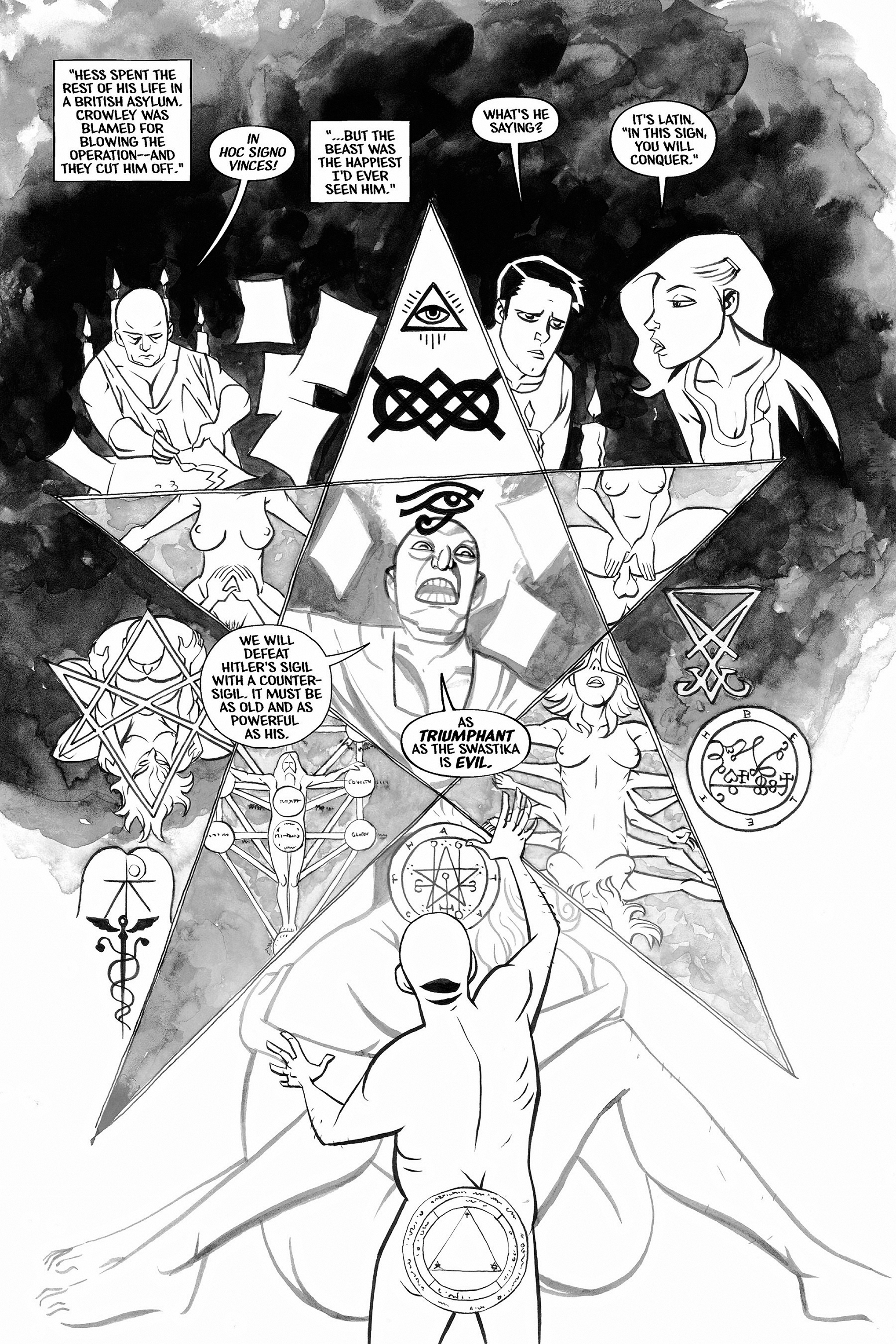 Read online Aleister & Adolf comic -  Issue # TPB - 45