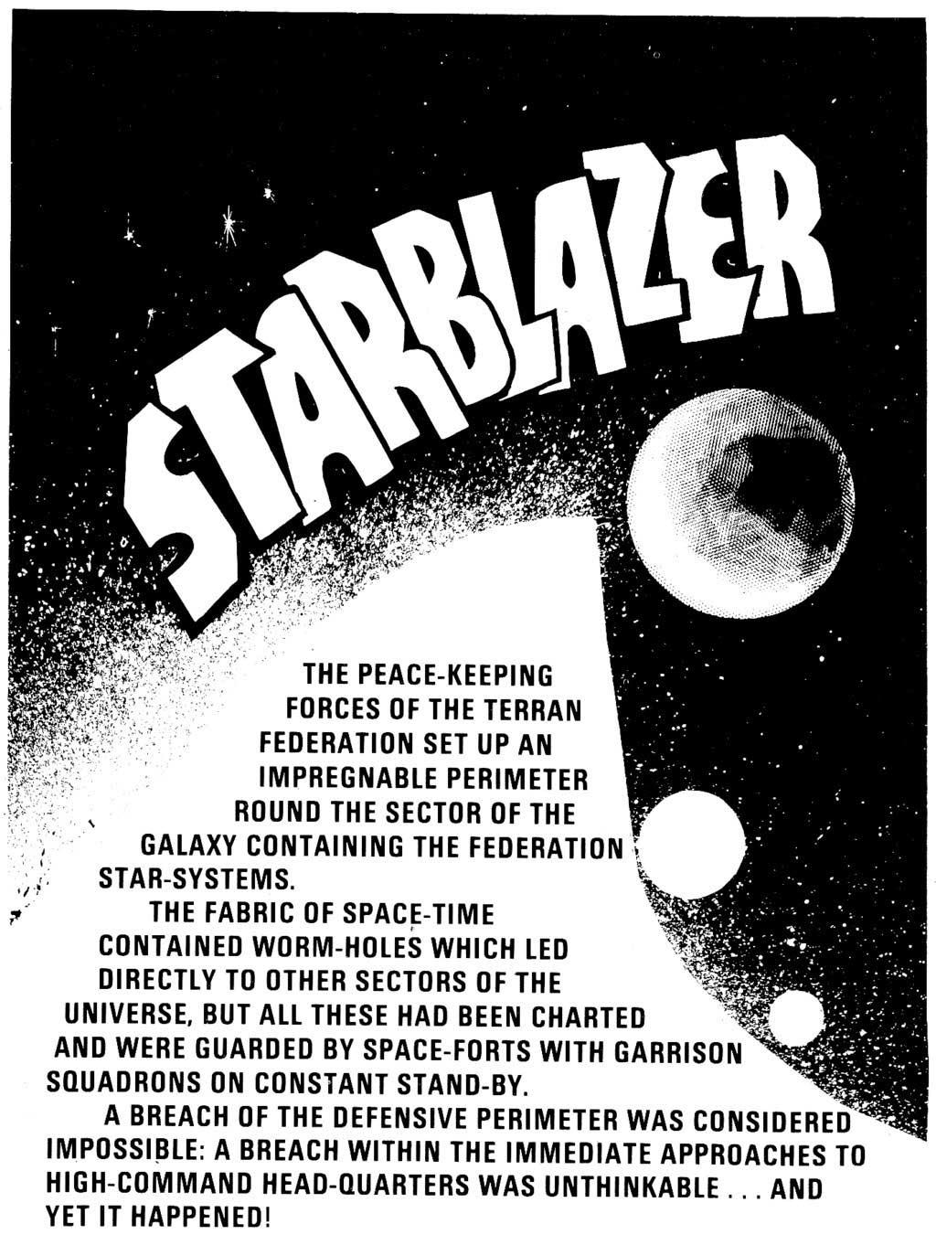 Starblazer issue 87 - Page 2