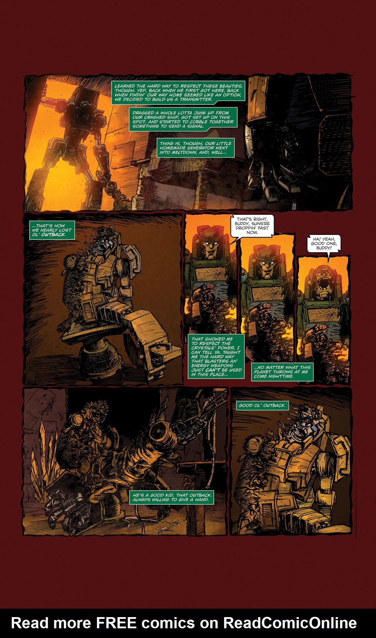 Read online Transformers Spotlight: Kup comic -  Issue # Full - 10