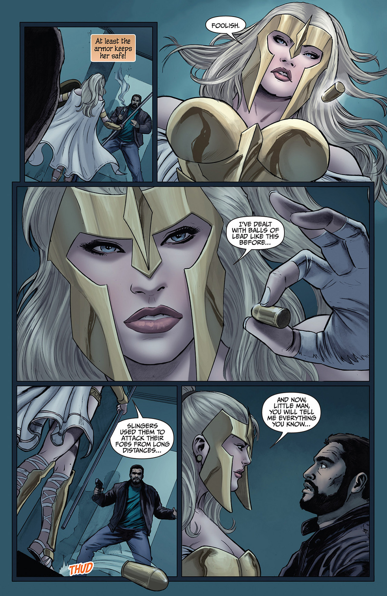 Read online Athena comic -  Issue #2 - 8