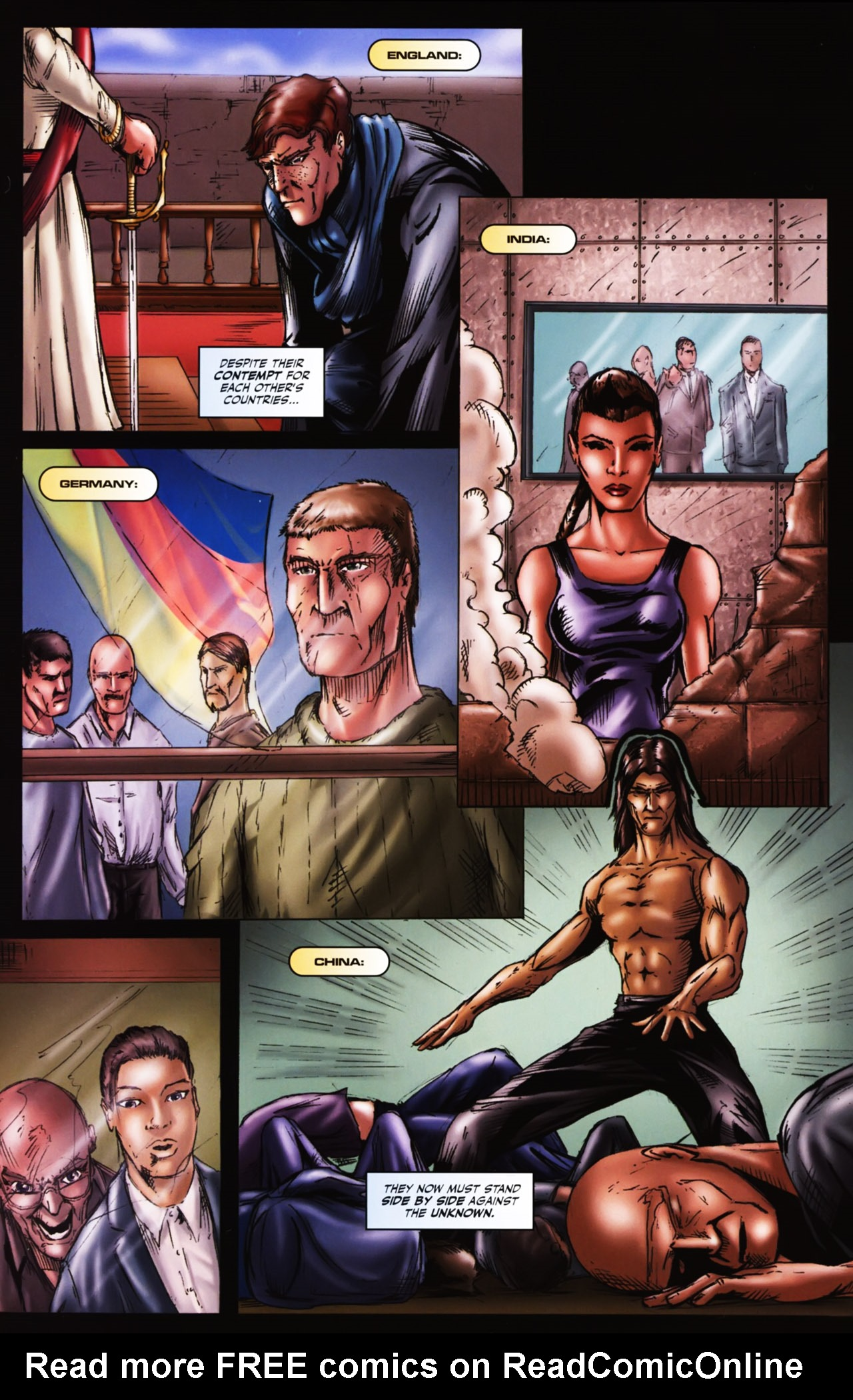 Read online Agon comic -  Issue #1 - 21
