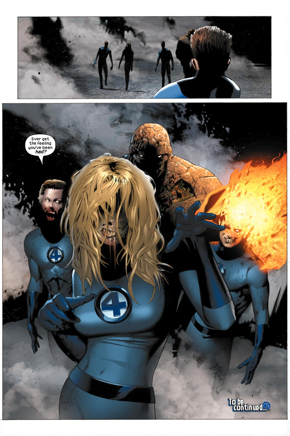 Read online Ultimate Fantastic Four (2004) comic -  Issue #21 - 23