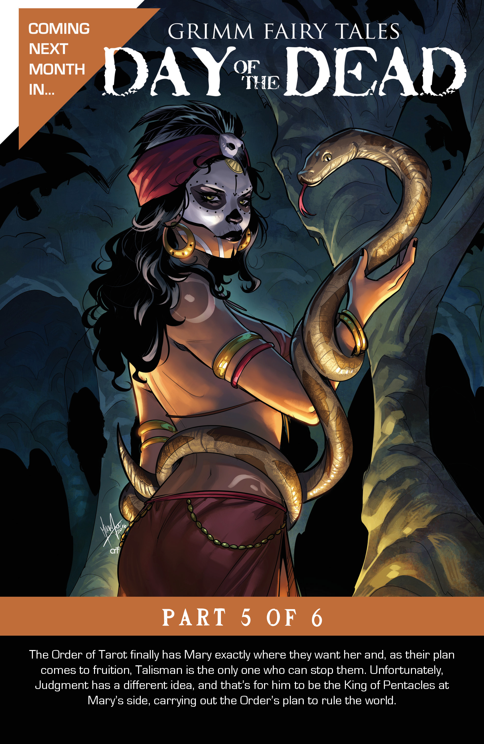 Read online Grimm Fairy Tales: Day of the Dead comic -  Issue #4 - 25