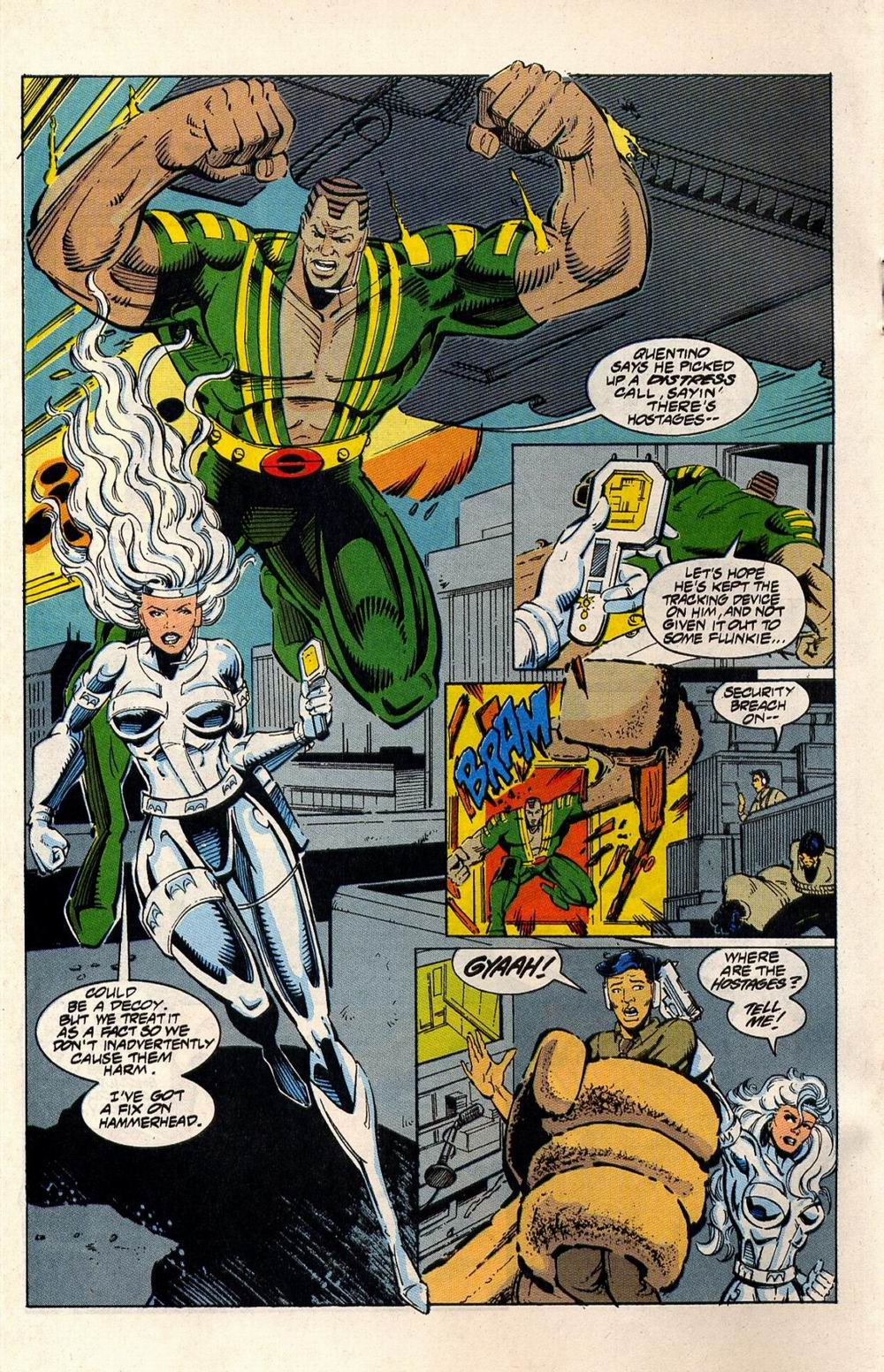 Read online Silver Sable and the Wild Pack comic -  Issue #33 - 12