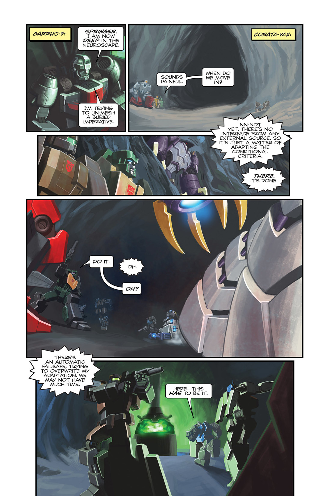 Read online Transformers Spotlight: Sideswipe comic -  Issue # Full - 11