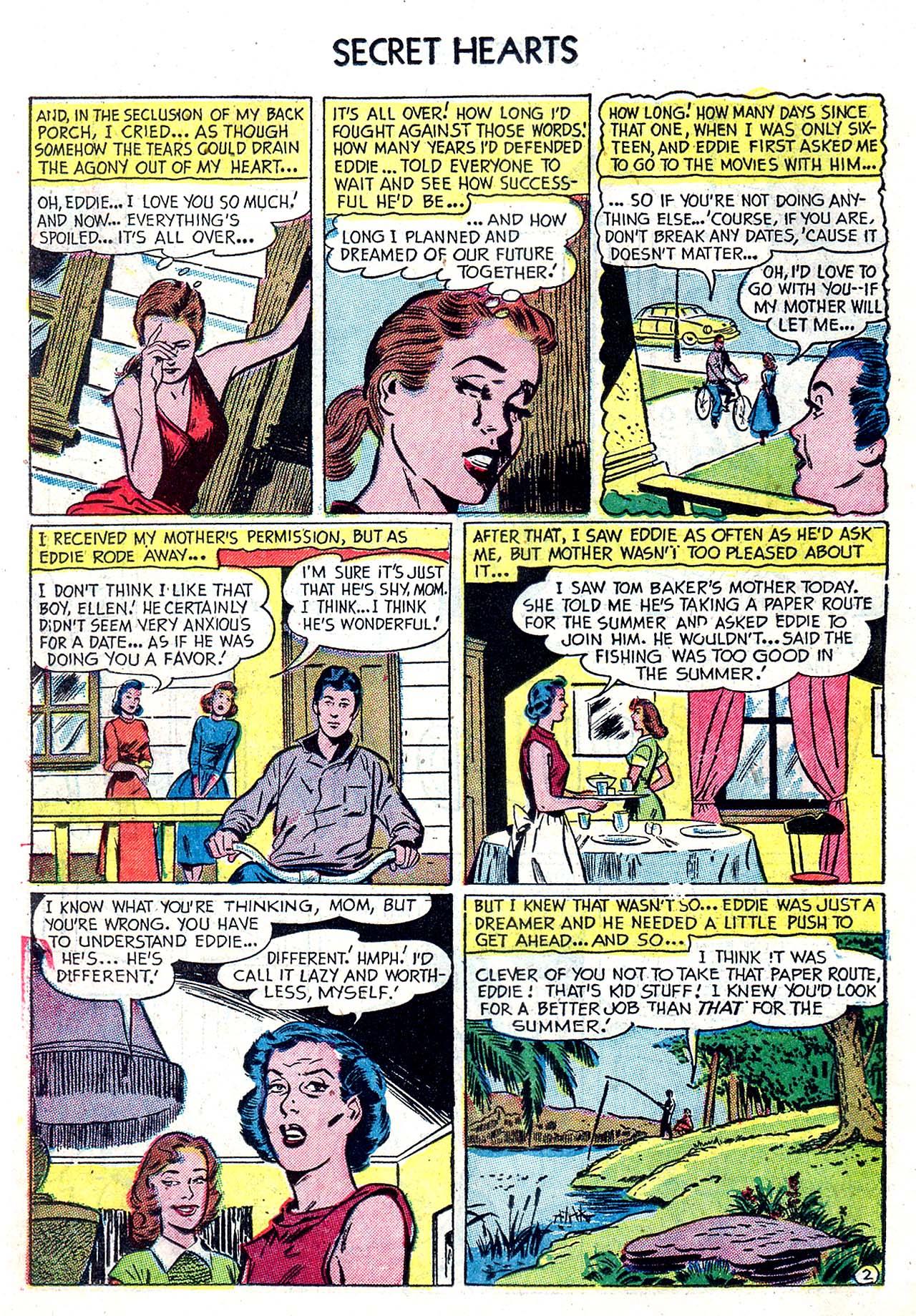 Read online Secret Hearts comic -  Issue #20 - 18