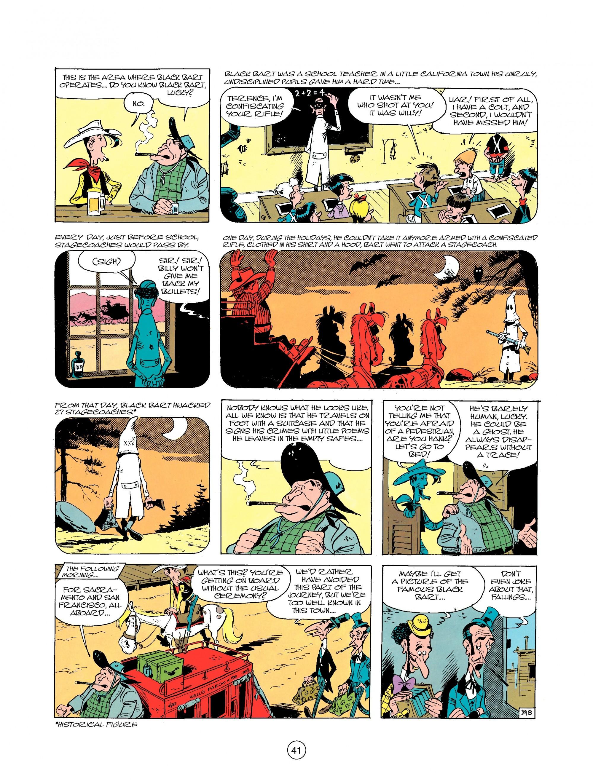 Read online A Lucky Luke Adventure comic -  Issue #25 - 41