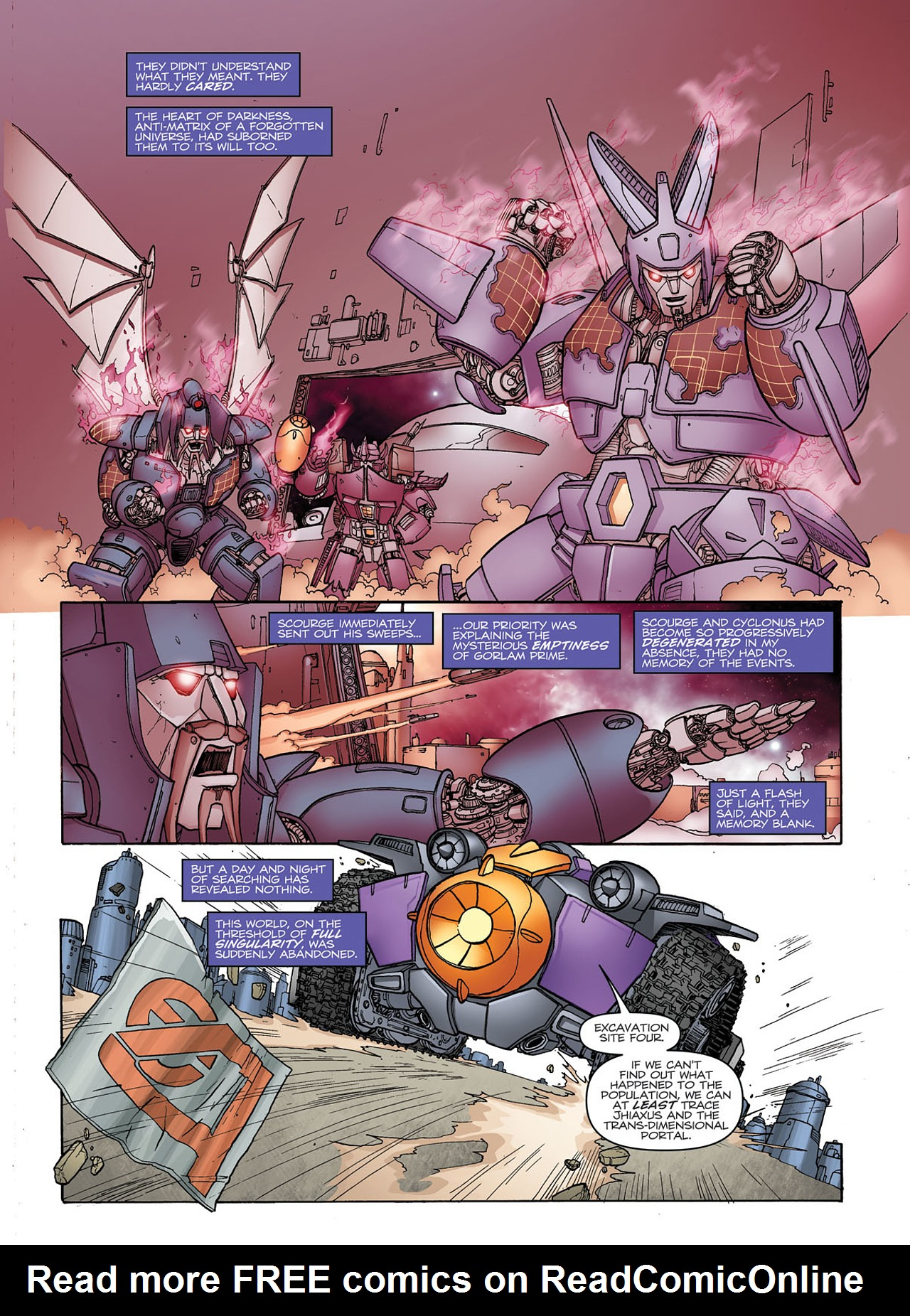 Read online Transformers: Heart of Darkness comic -  Issue #1 - 14