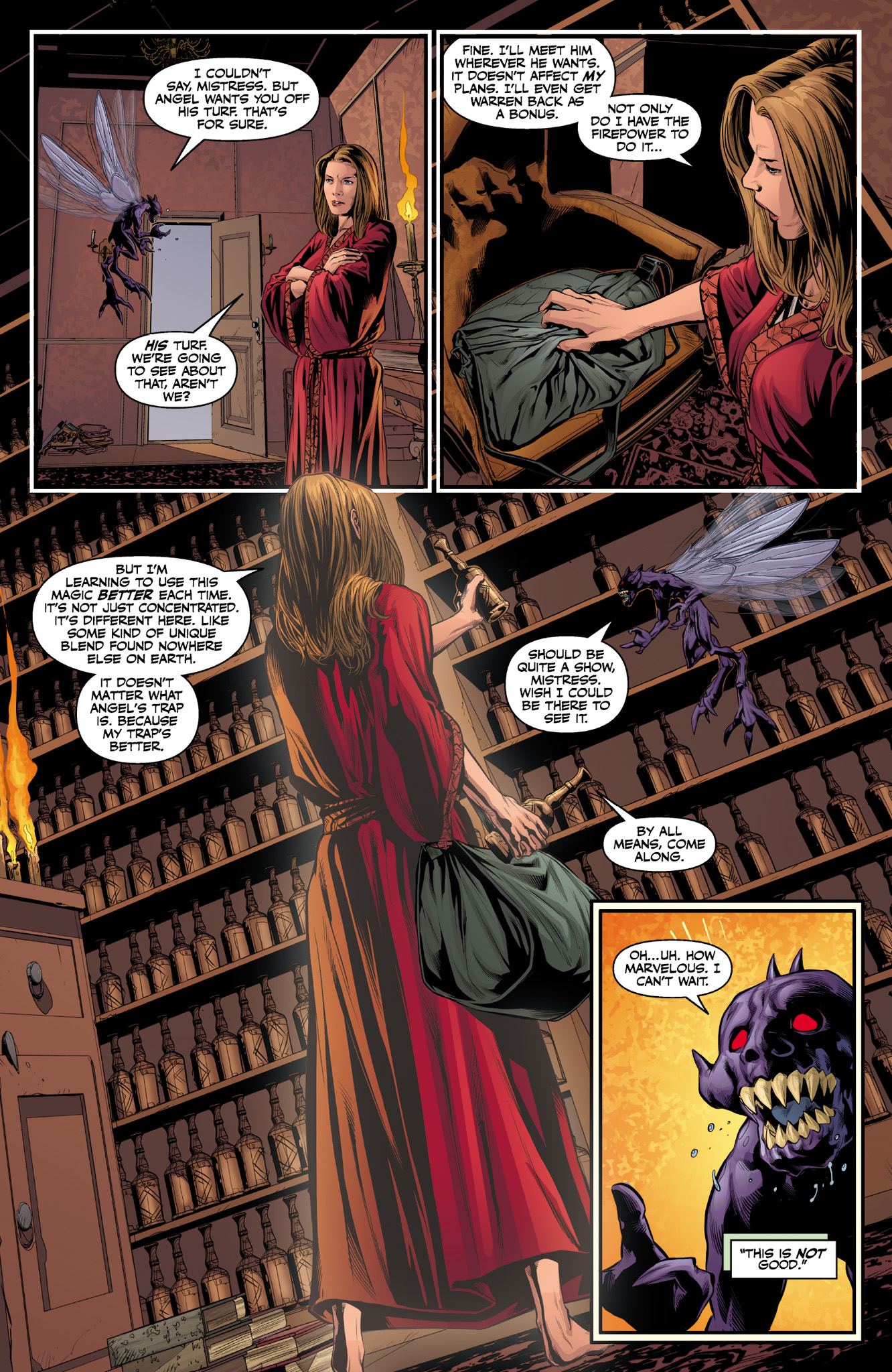 Read online Angel & Faith Season 10 comic -  Issue #9 - 14