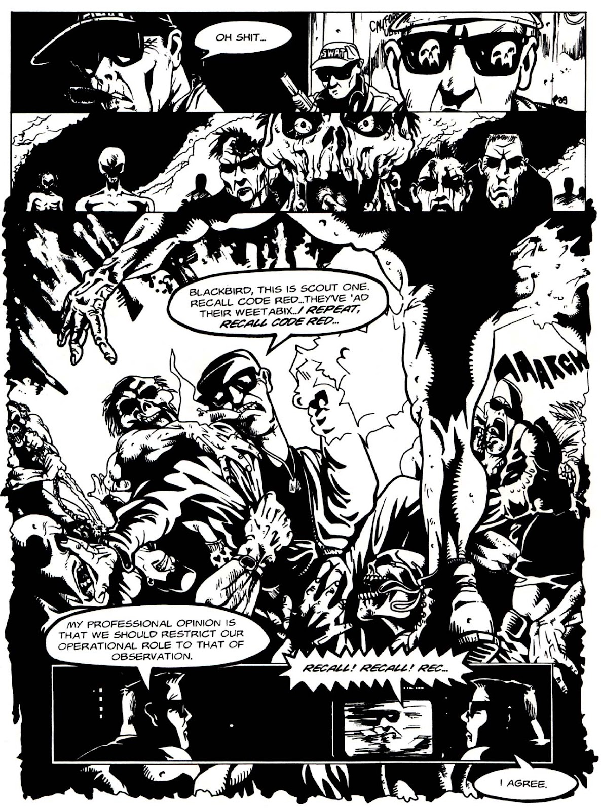 Read online Night of the Living Dead (1994) comic -  Issue #1 - 27