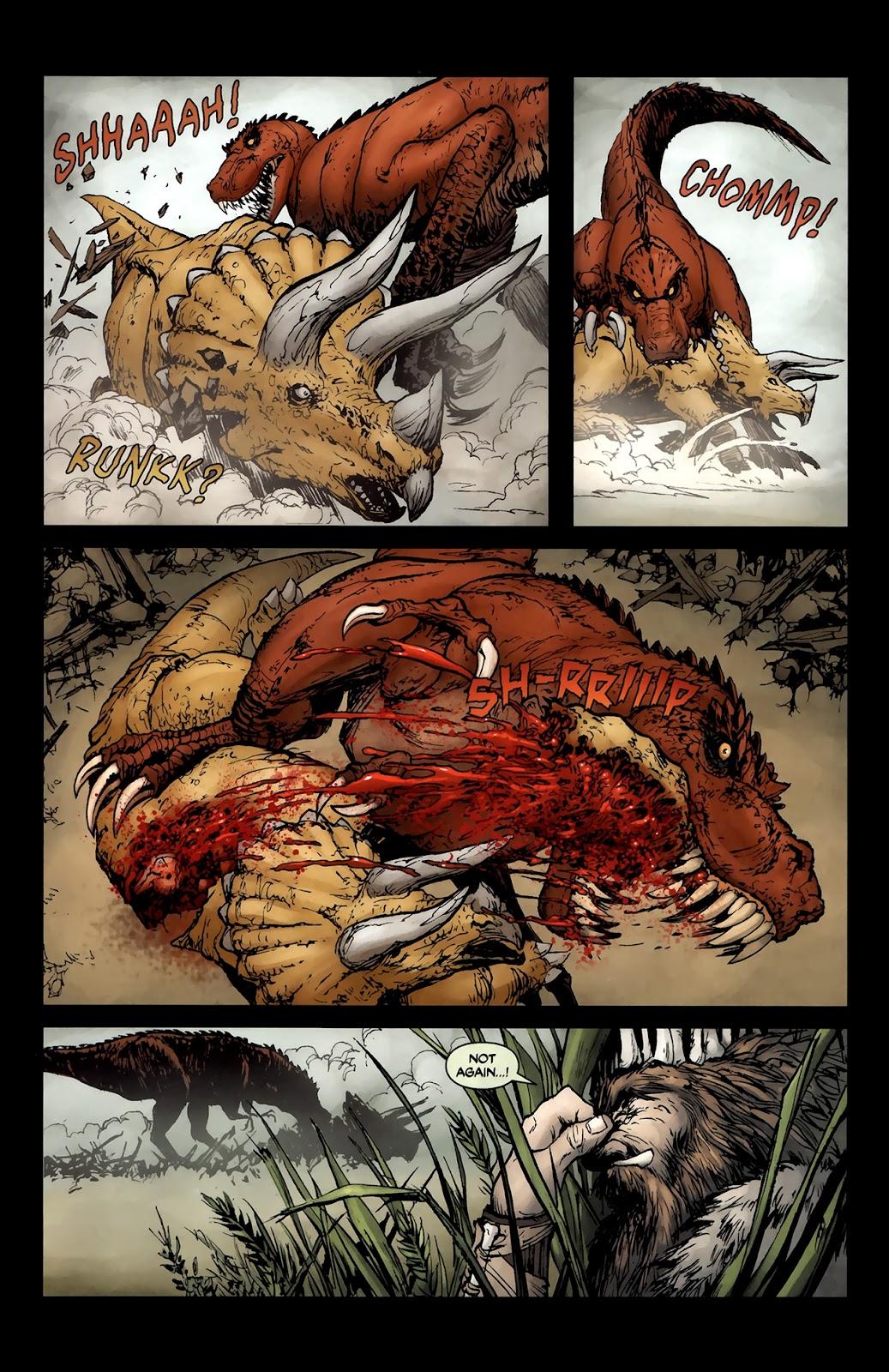 Read online Tyrannosaurus Rex comic -  Issue # Full - 6