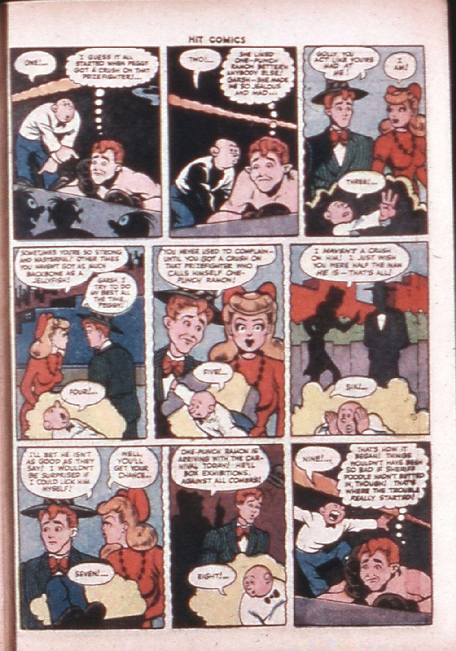 Read online Hit Comics comic -  Issue #33 - 48