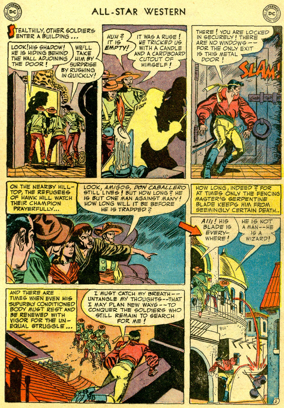 Read online All-Star Western (1951) comic -  Issue #64 - 21