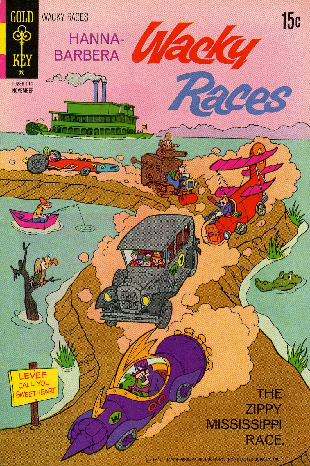 Hanna-Barbera Wacky Races issue 5 - Page 1